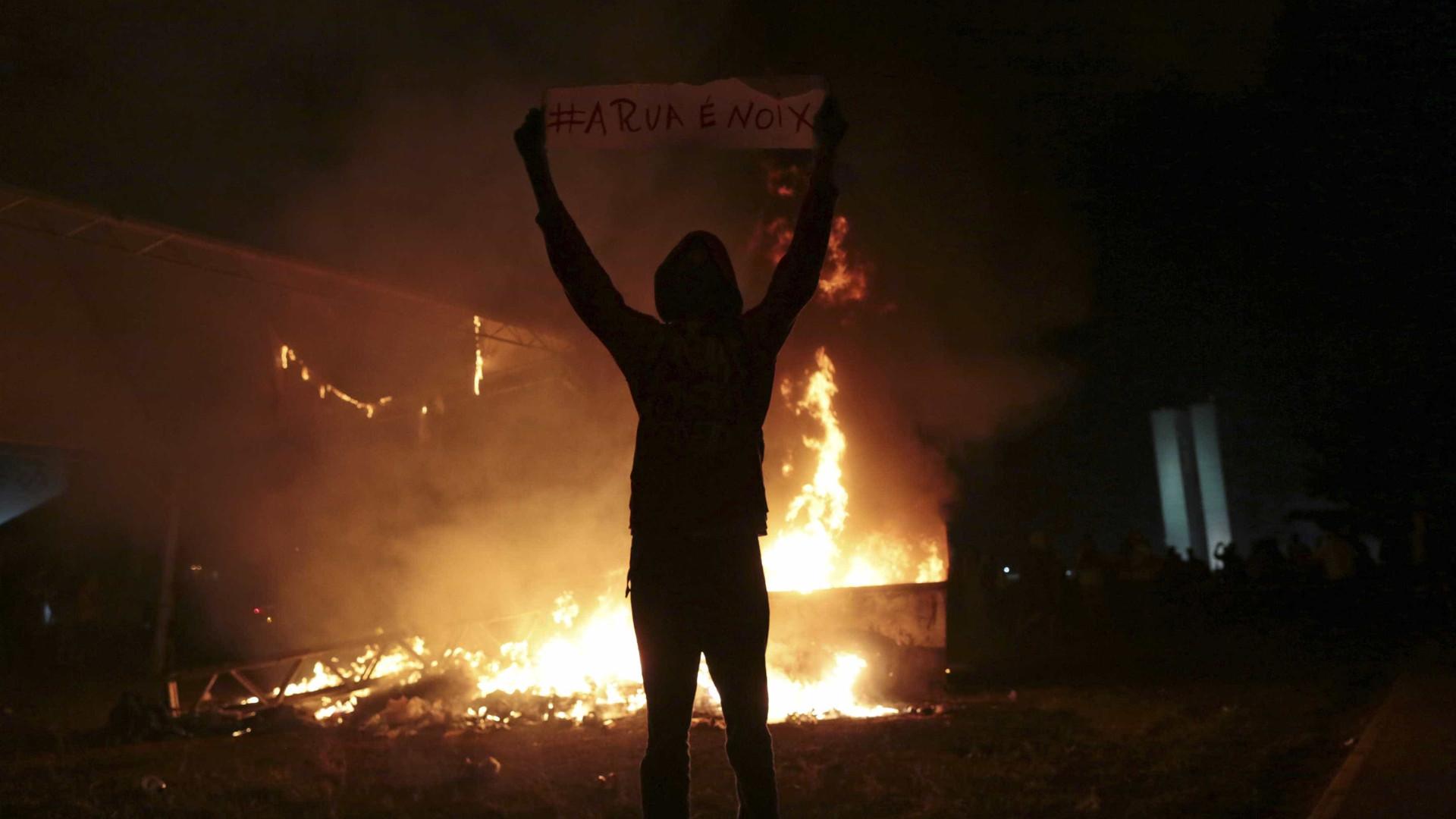 Fumaça de queimadas chega ao Sul e do Sudeste do Brasil