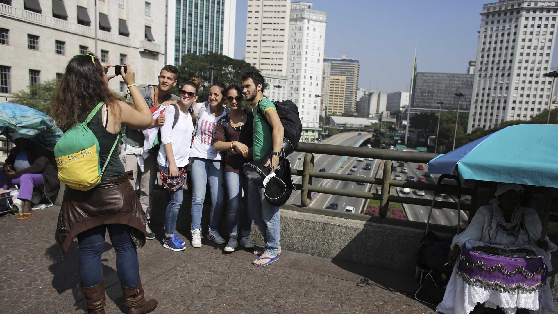 Número de turistas estrangeiros fica estagnado, mas satisfação é alta