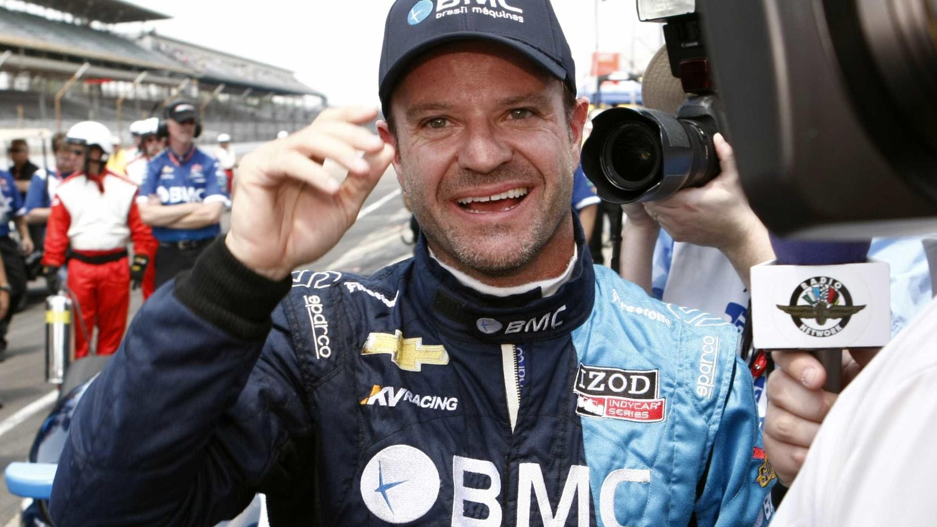 Rubens Barrichello terá companhia do filho em etapa da Stock Car