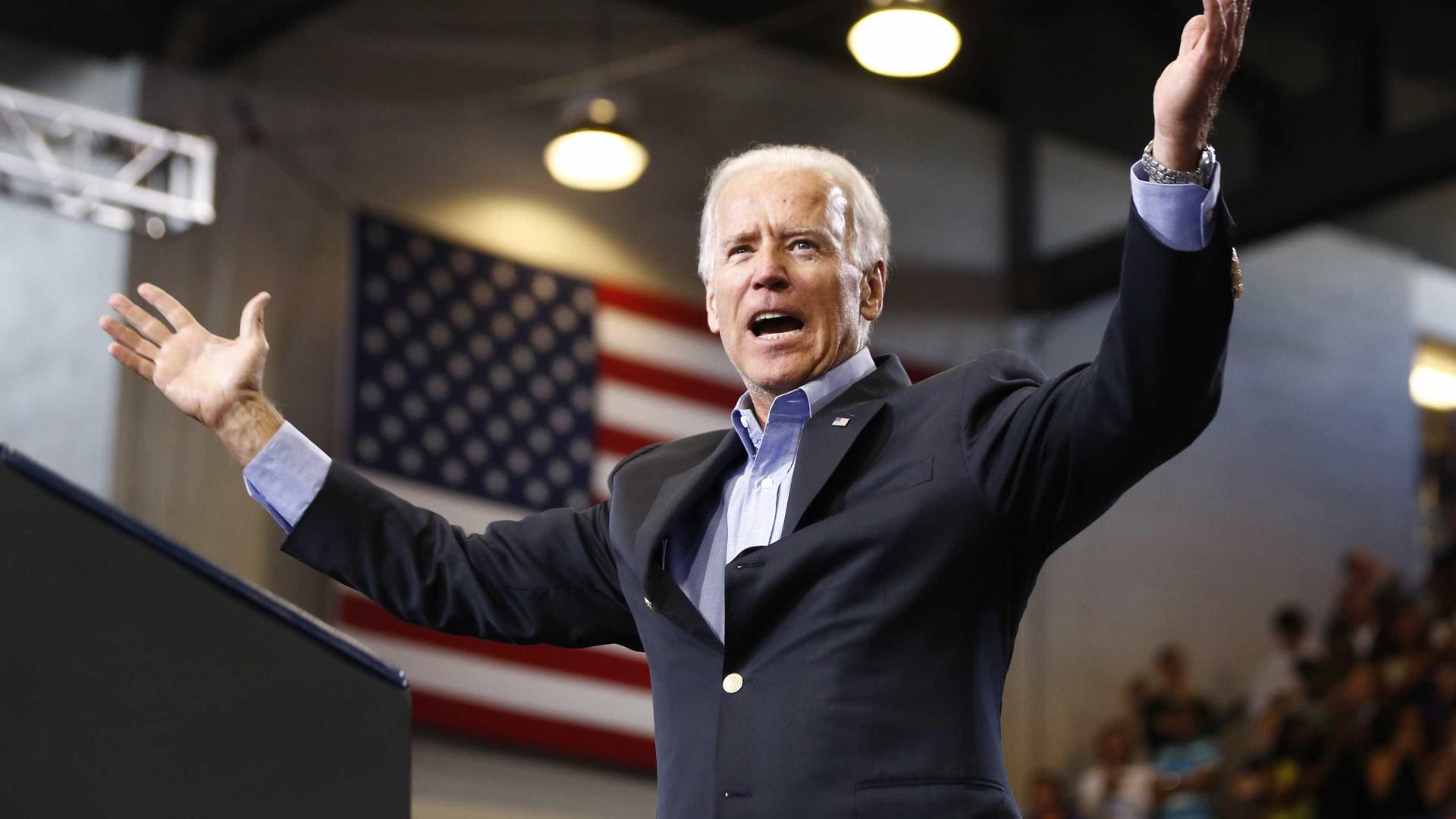 Joe Biden nomeado oficialmente candidato contra Trump