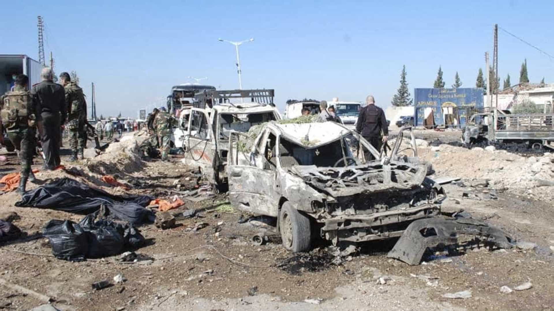 Alemanha vai destruir primeiro carregamento de armas químicas da Síria