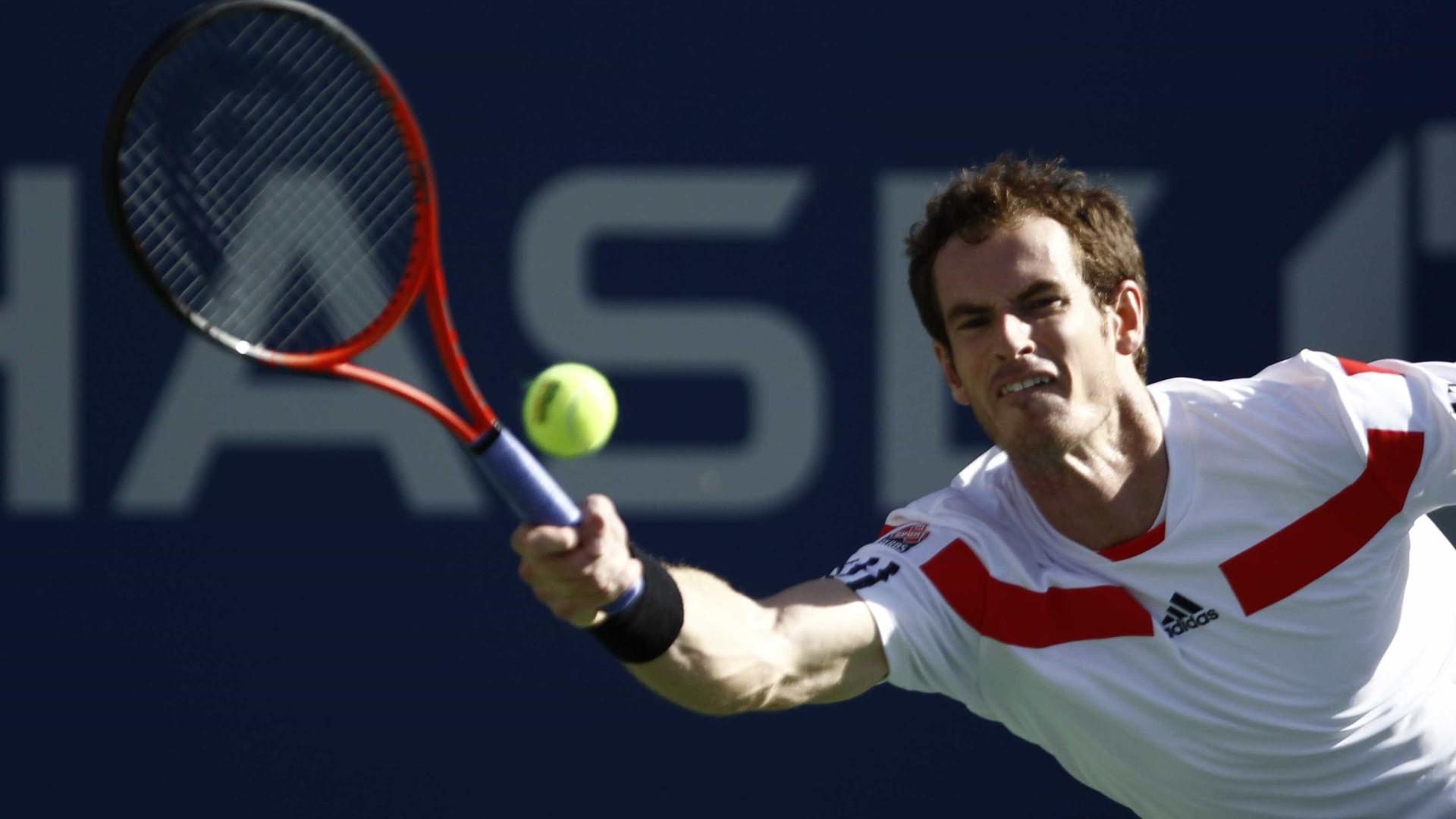 Murray testa positivo para a Covid-19 e vira dúvida no Aberto da Austrália