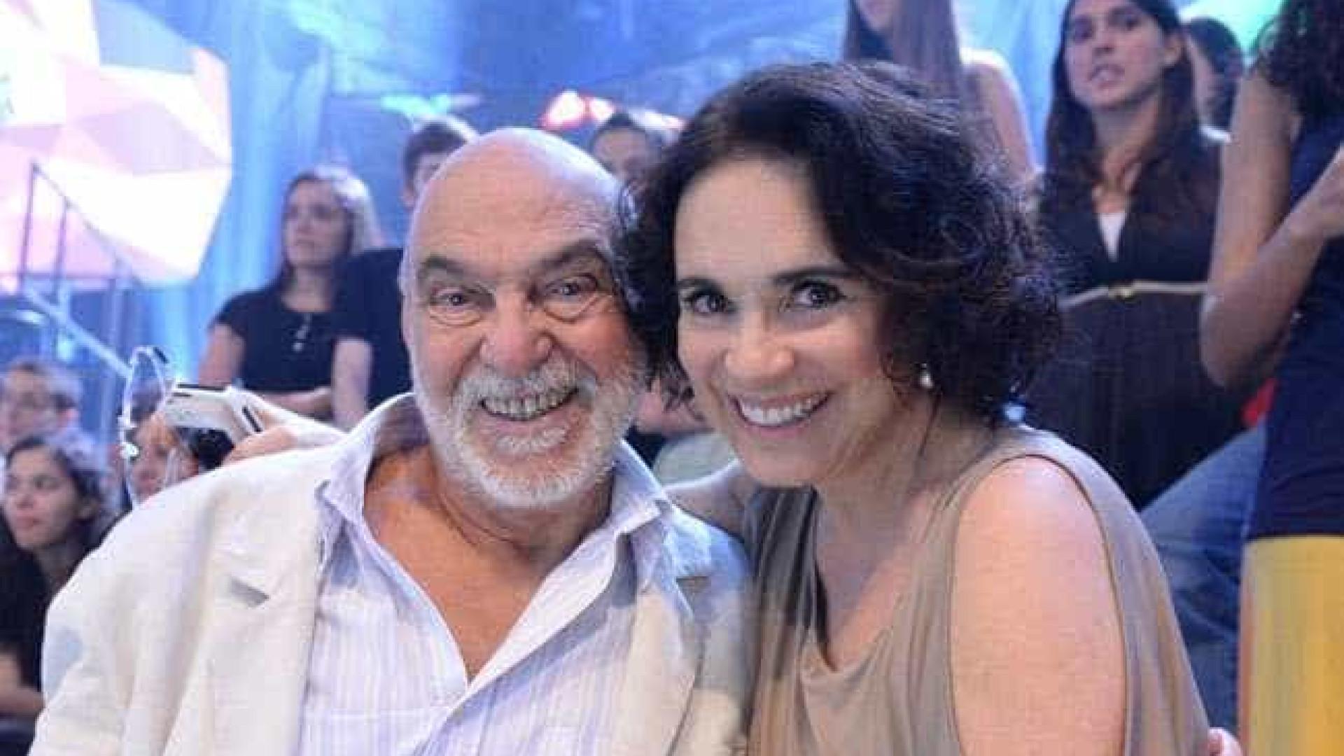 'Ela caiu quando entrou', diz Lima Duarte sobre Regina Duarte
