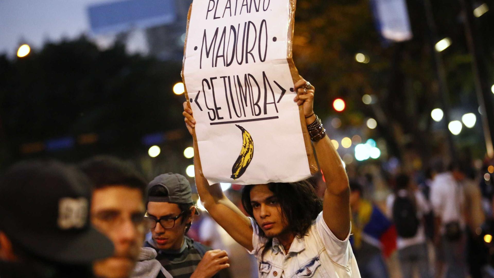 Venezuela vive expectativa de novos protestos marcados para hoje