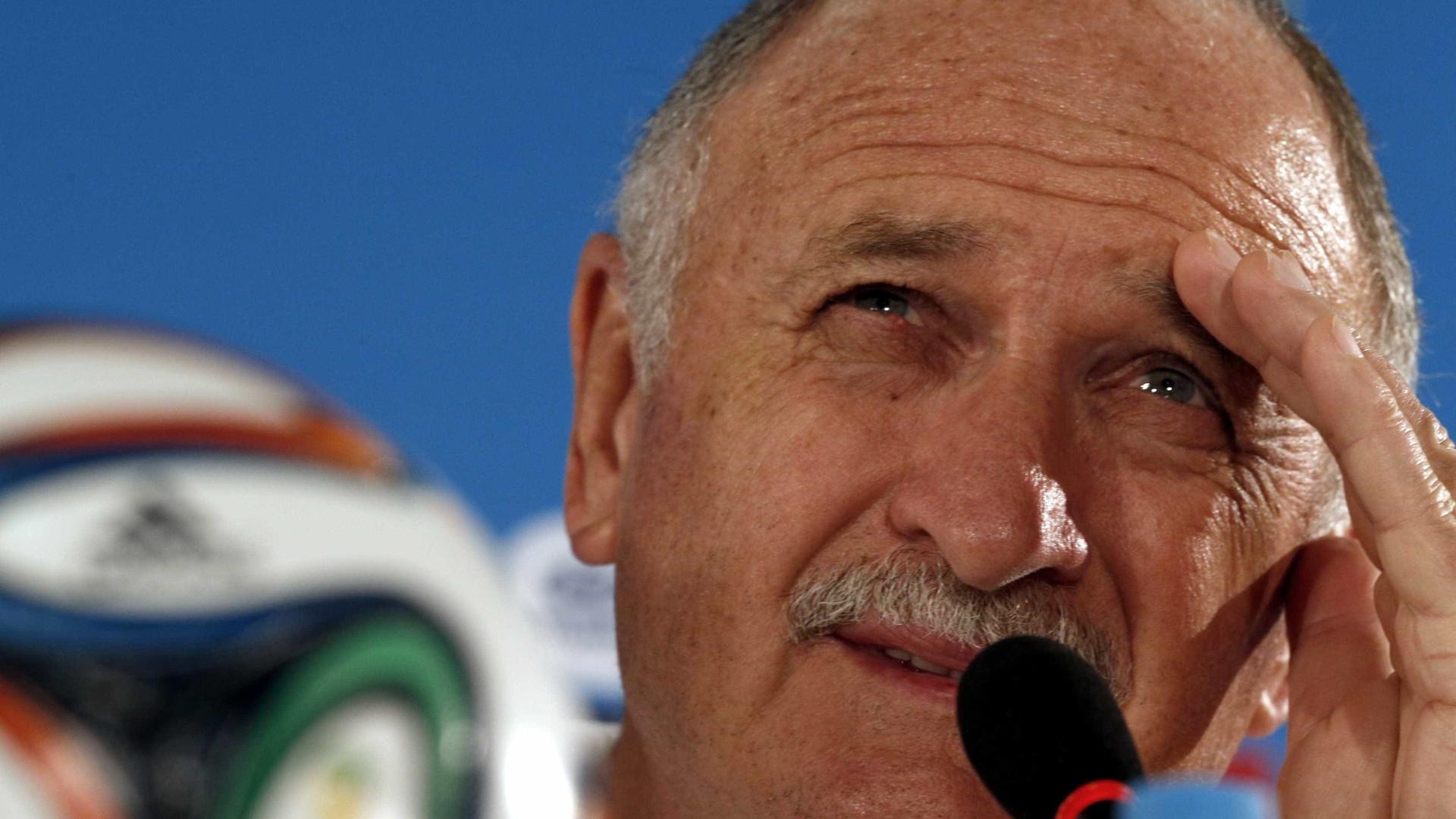 Felipão recebe mensagens de agradecimento dos jogadores palmeirenses