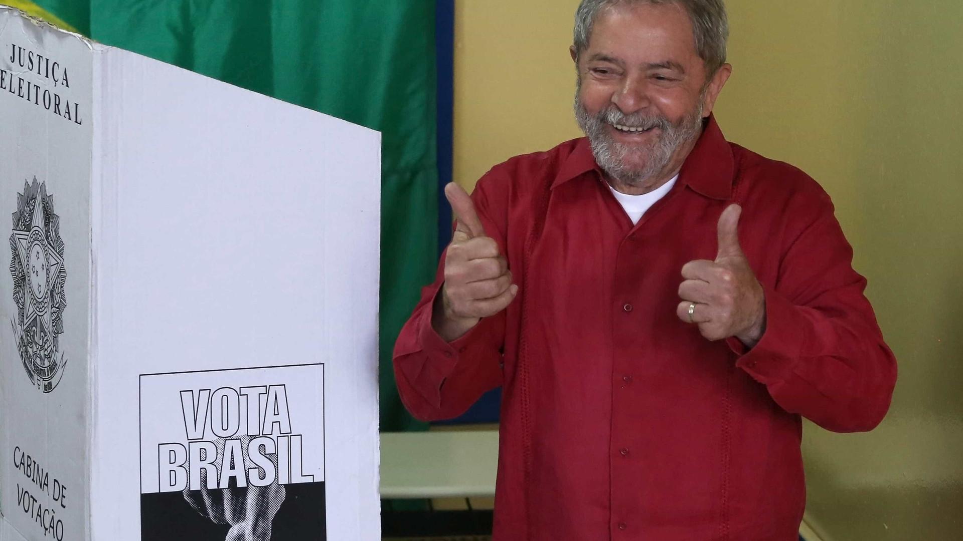 Lula pode não votar no segundo turno em São Bernardo (SP)