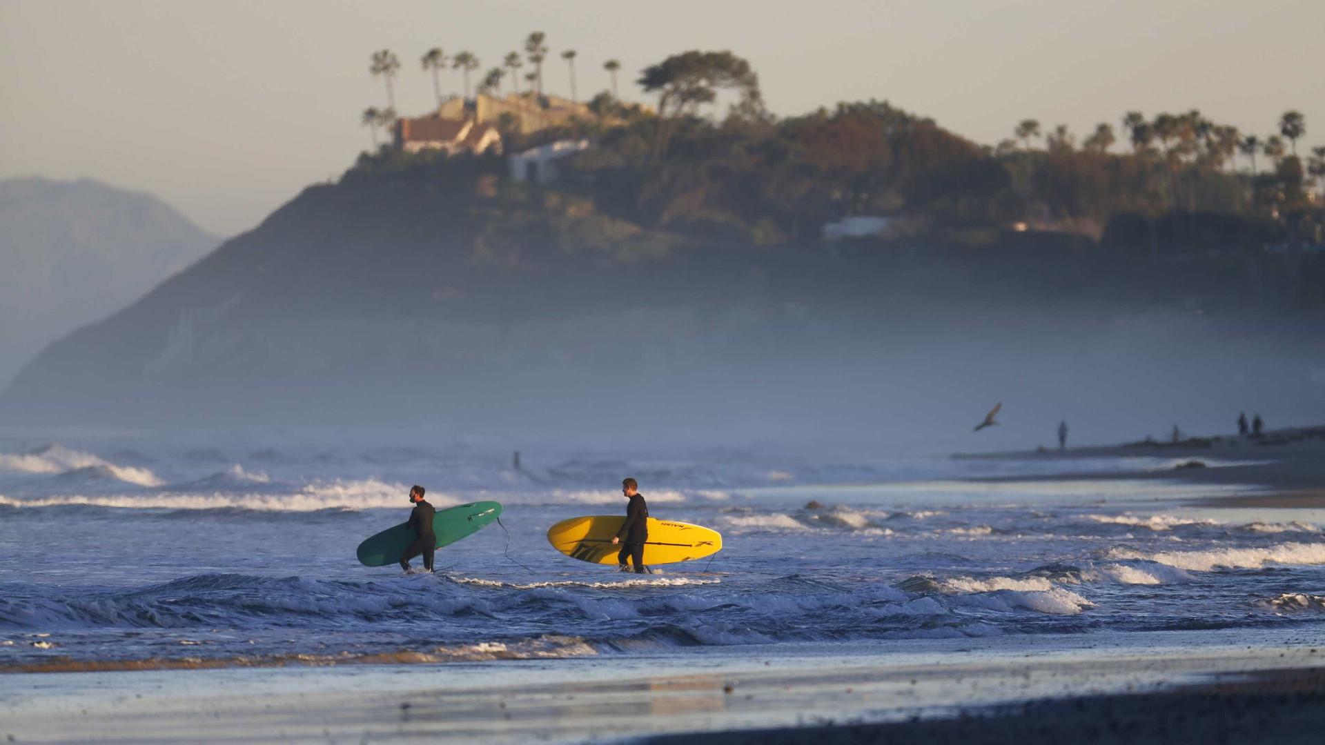 Coronavírus faz Liga Mundial de Surfe adiar Circuito Mundial