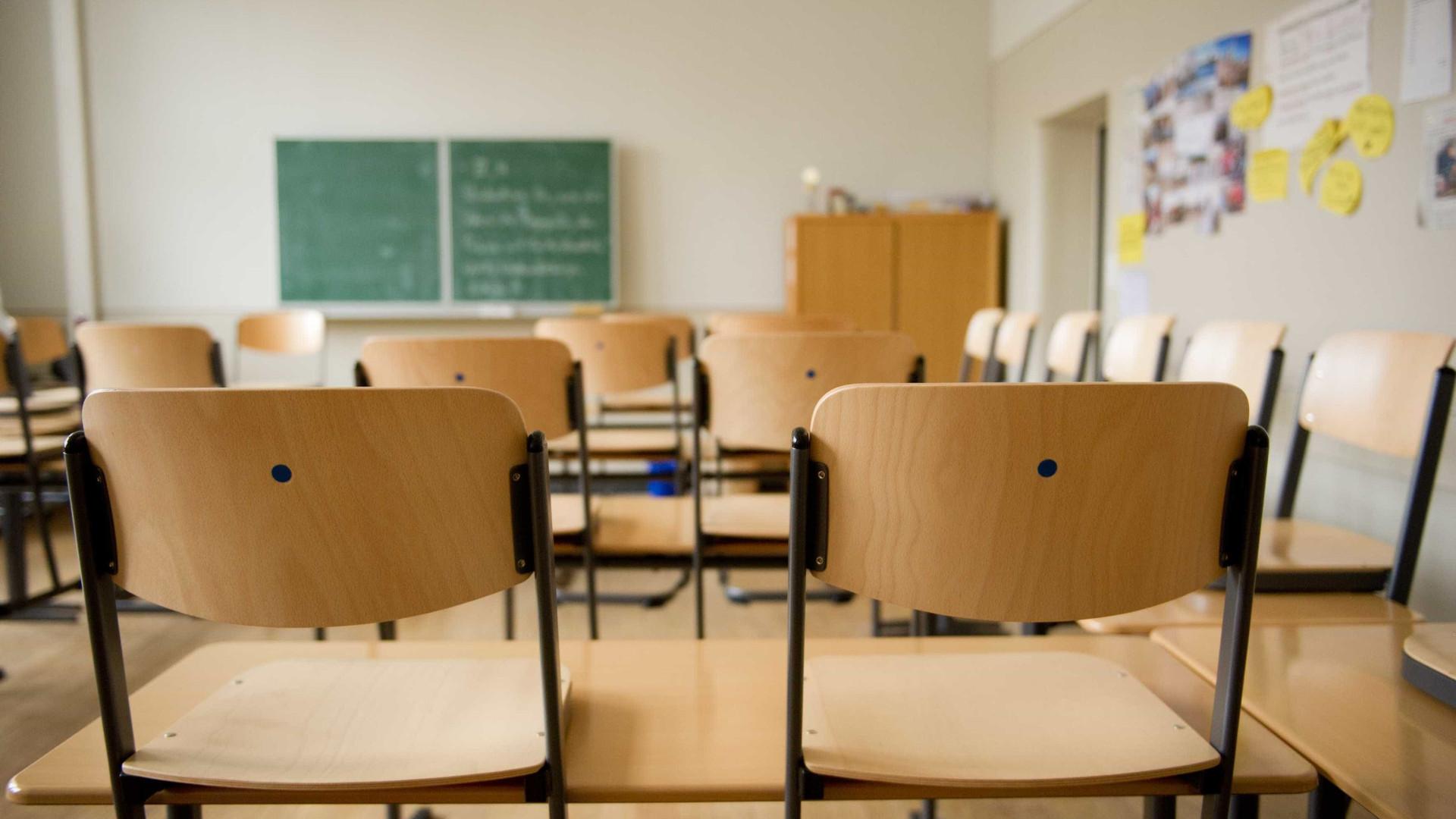Três adolescentes mascarados e com machado invadem escola no PR