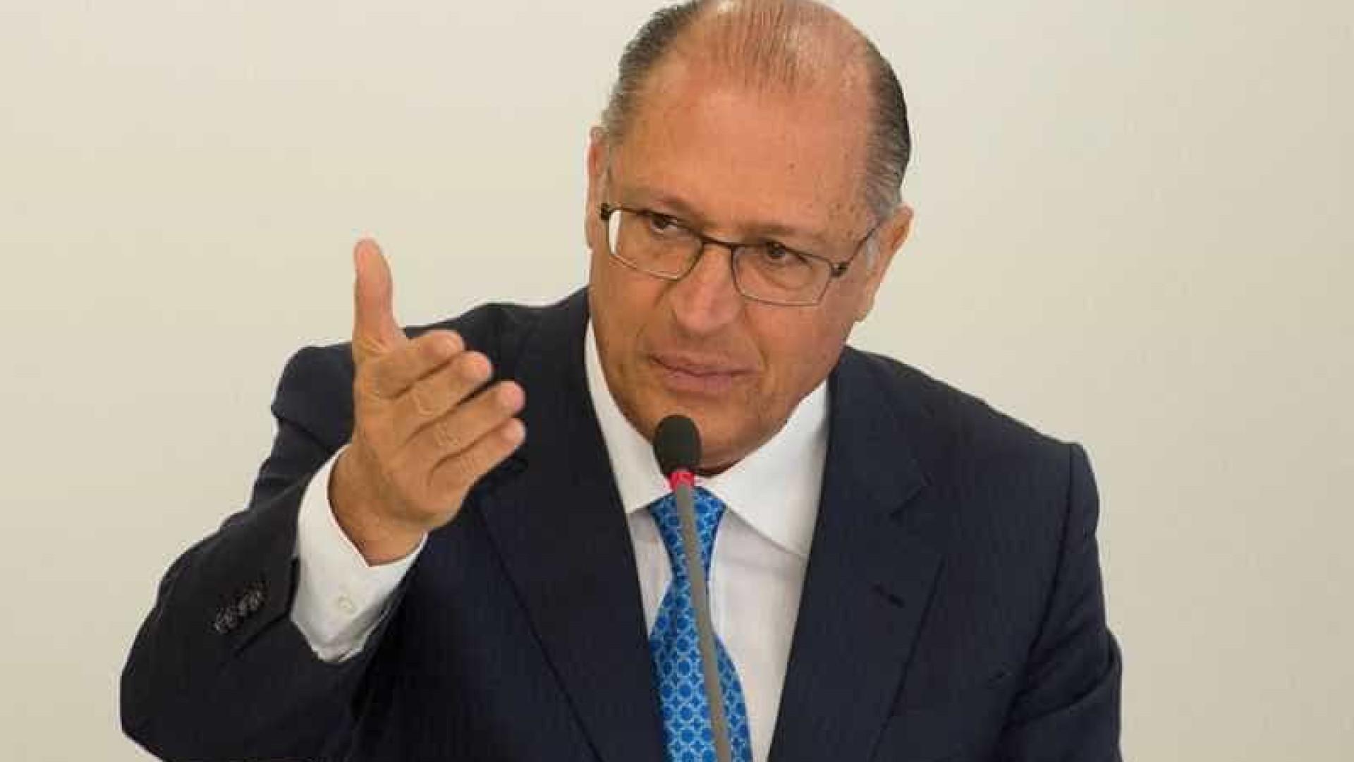 Alckmin anuncia parcelamento do ICMS em agosto