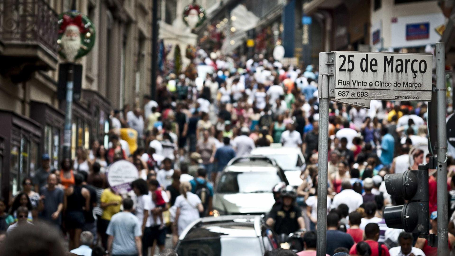 Vendas do varejo sobem 1,3% em agosto ante julho, revela IBGE