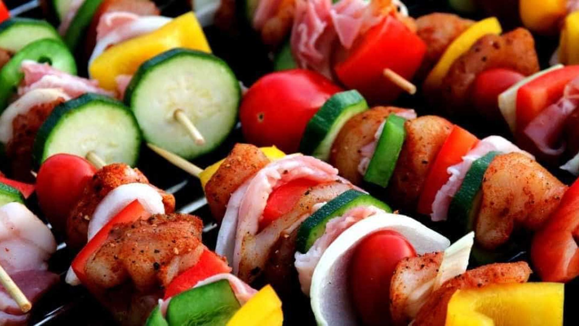 Seis alimentos que podem ser grelhados