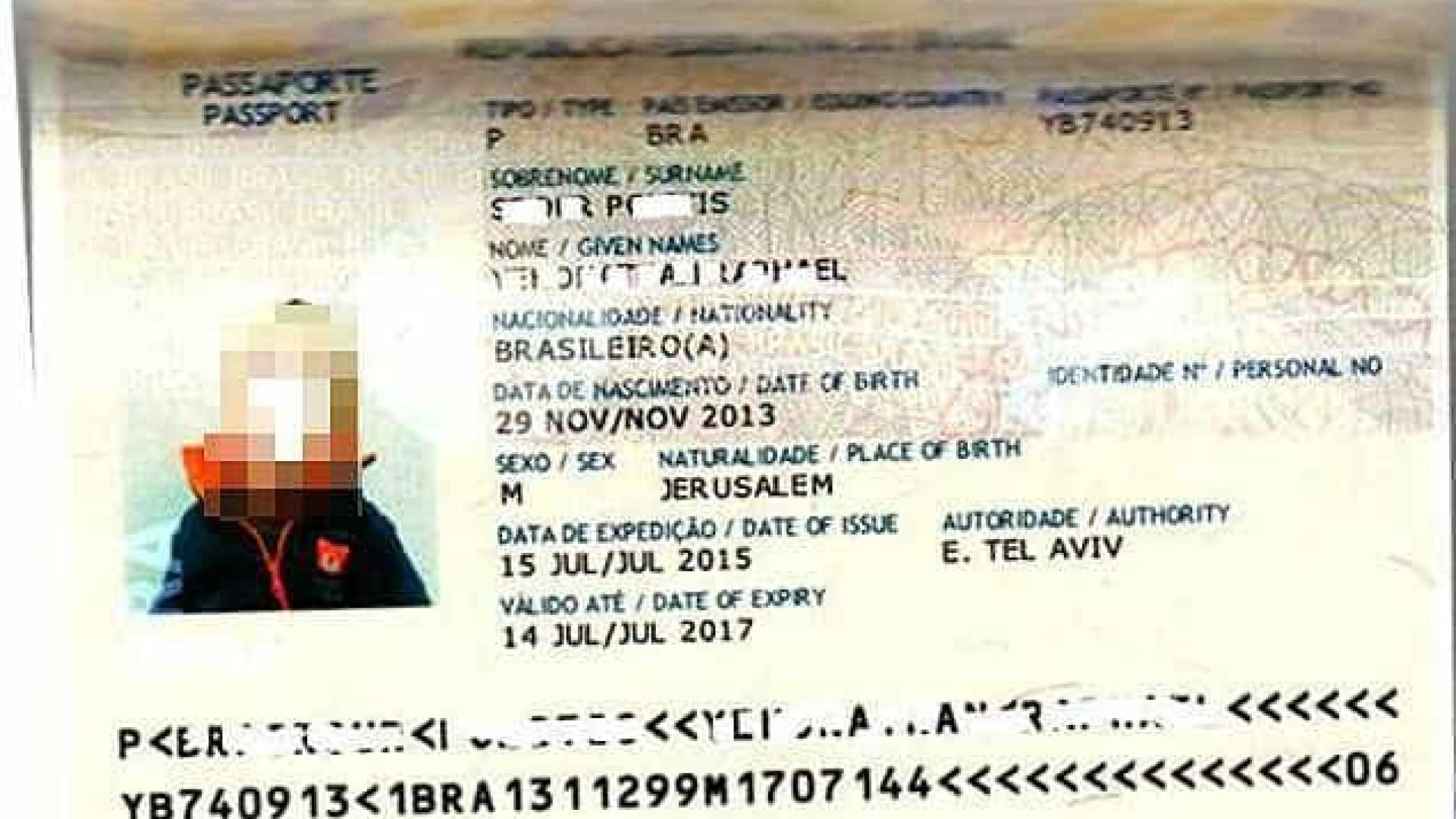 Brasil retira menção a Israel de passaportes em Jerusalém