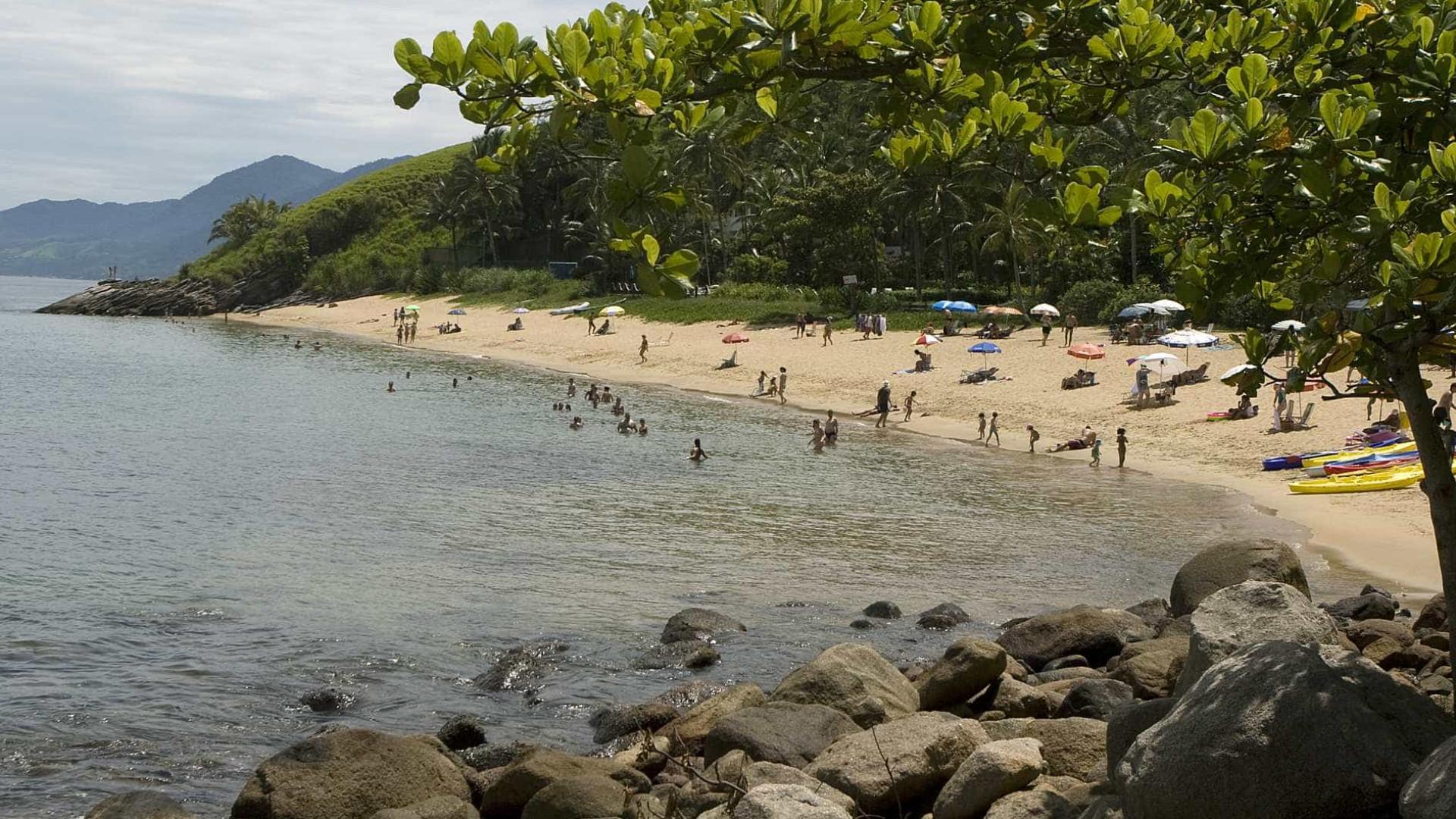 Onze das 19 praias de Ilhabela estão impróprias, diz Cetesb