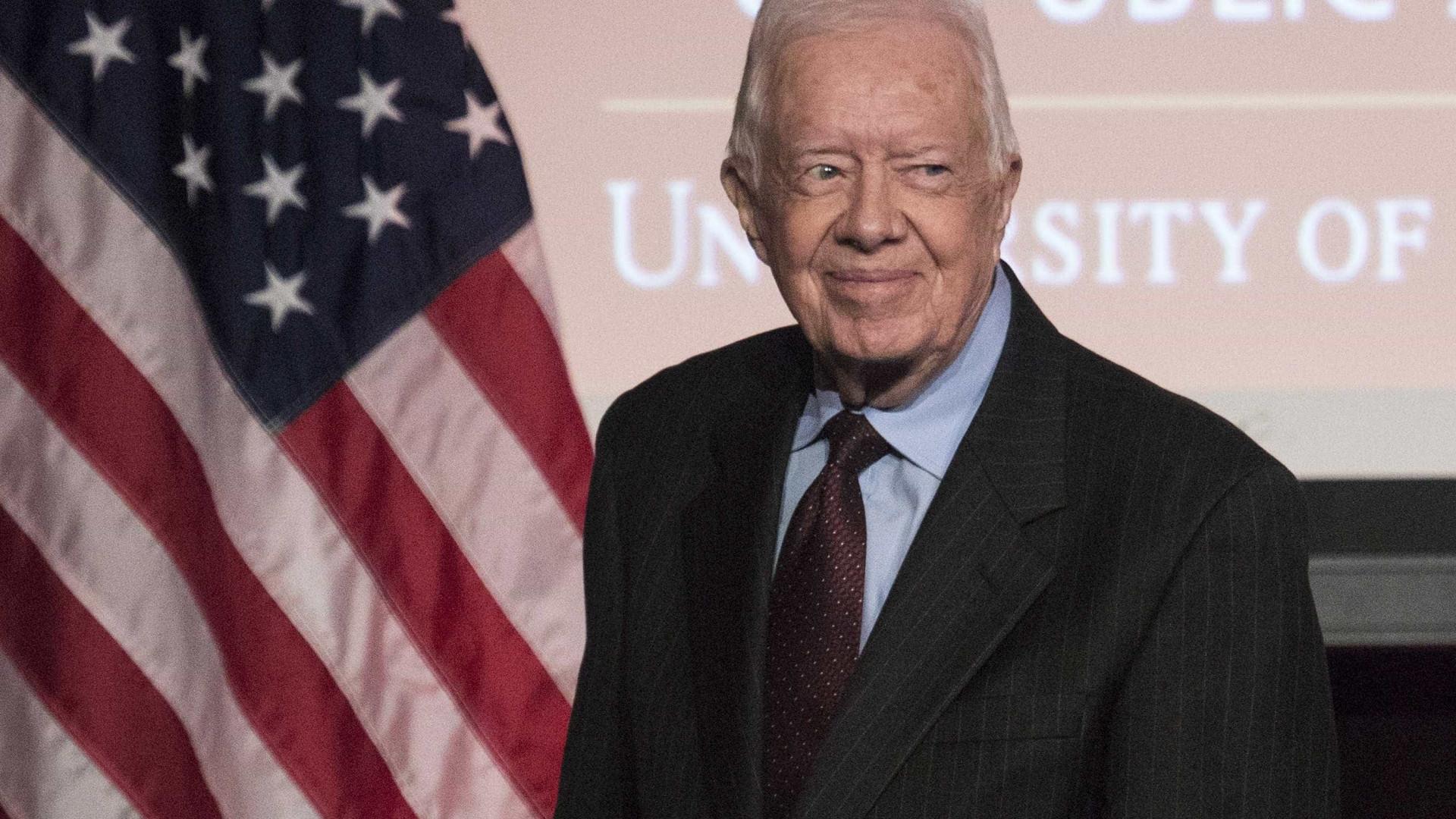 Ex-presidente dos EUA Jimmy Carter foi novamente hospitalizado