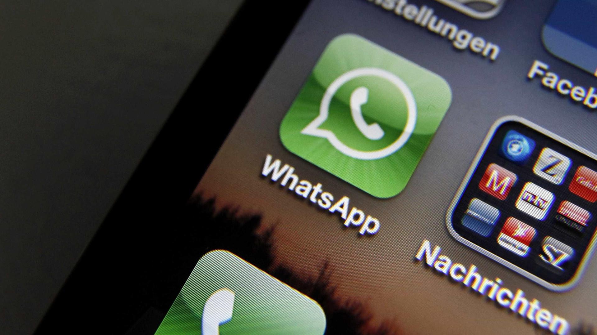 WhatsApp recorre da decisão de bloqueio