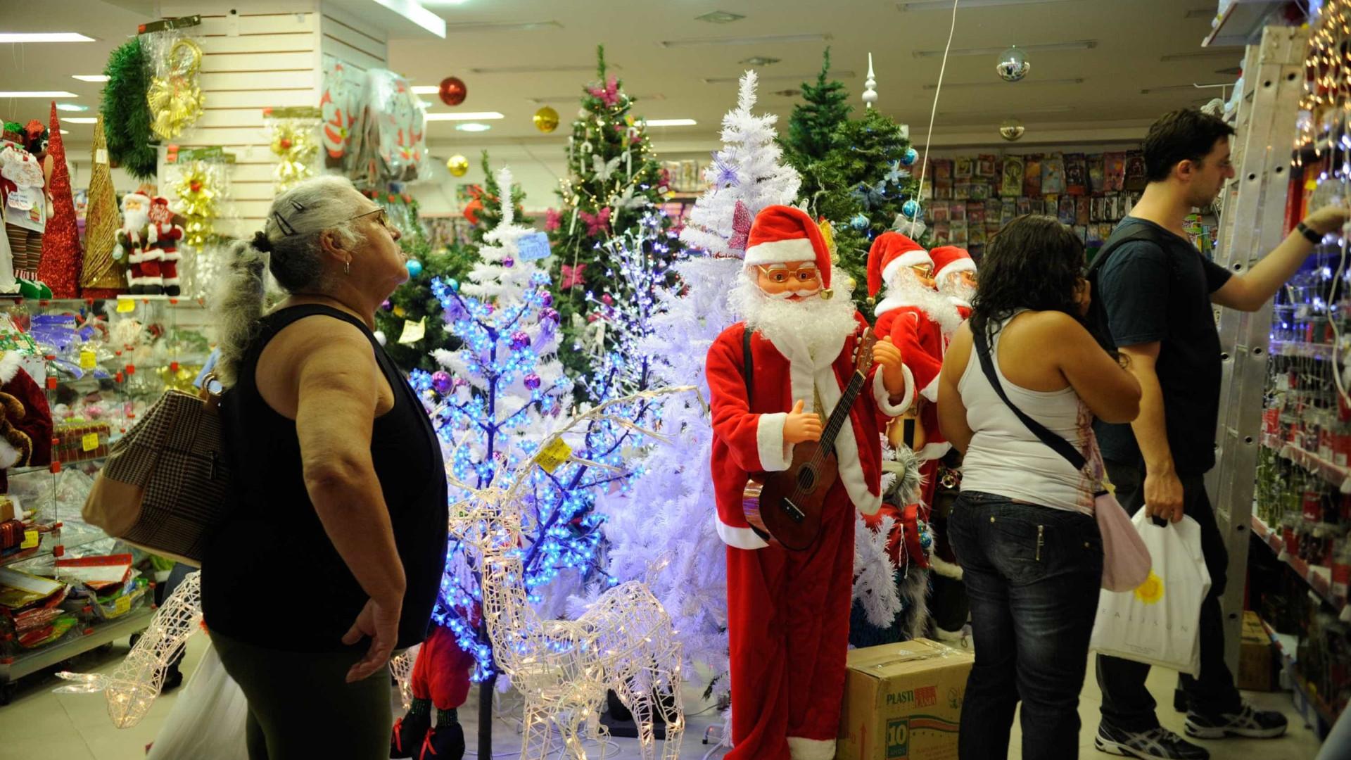 Natal deve ser insuficiente para alavancar o comércio