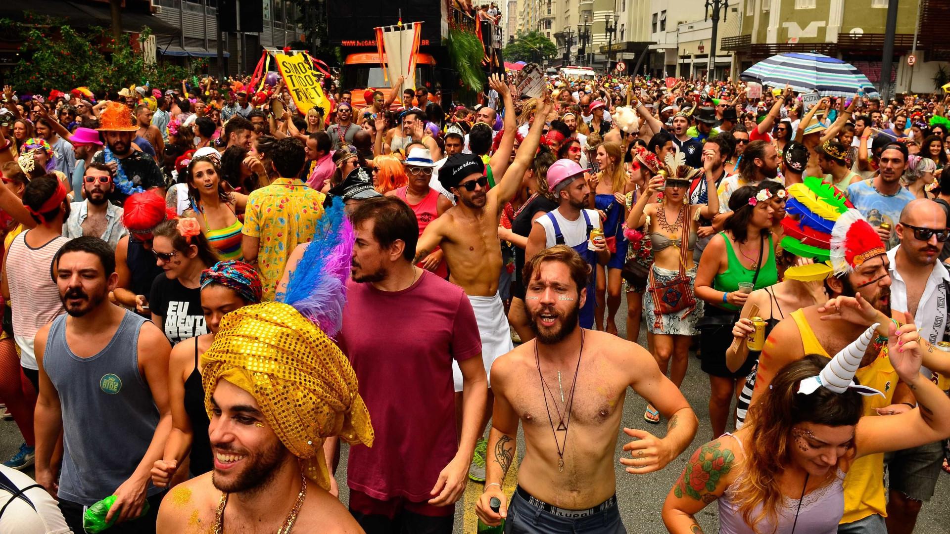 Carnaval paulistano de rua deve crescer 60%