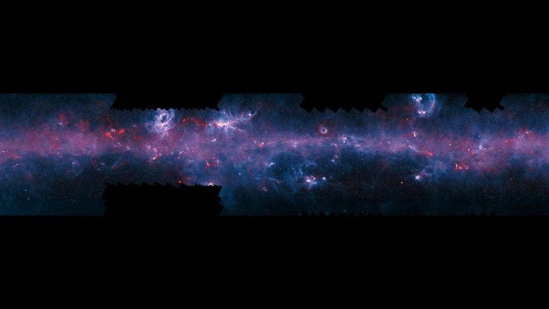 """Observada galáxia """"bebê"""" distante mas parecida com a Via Láctea"""