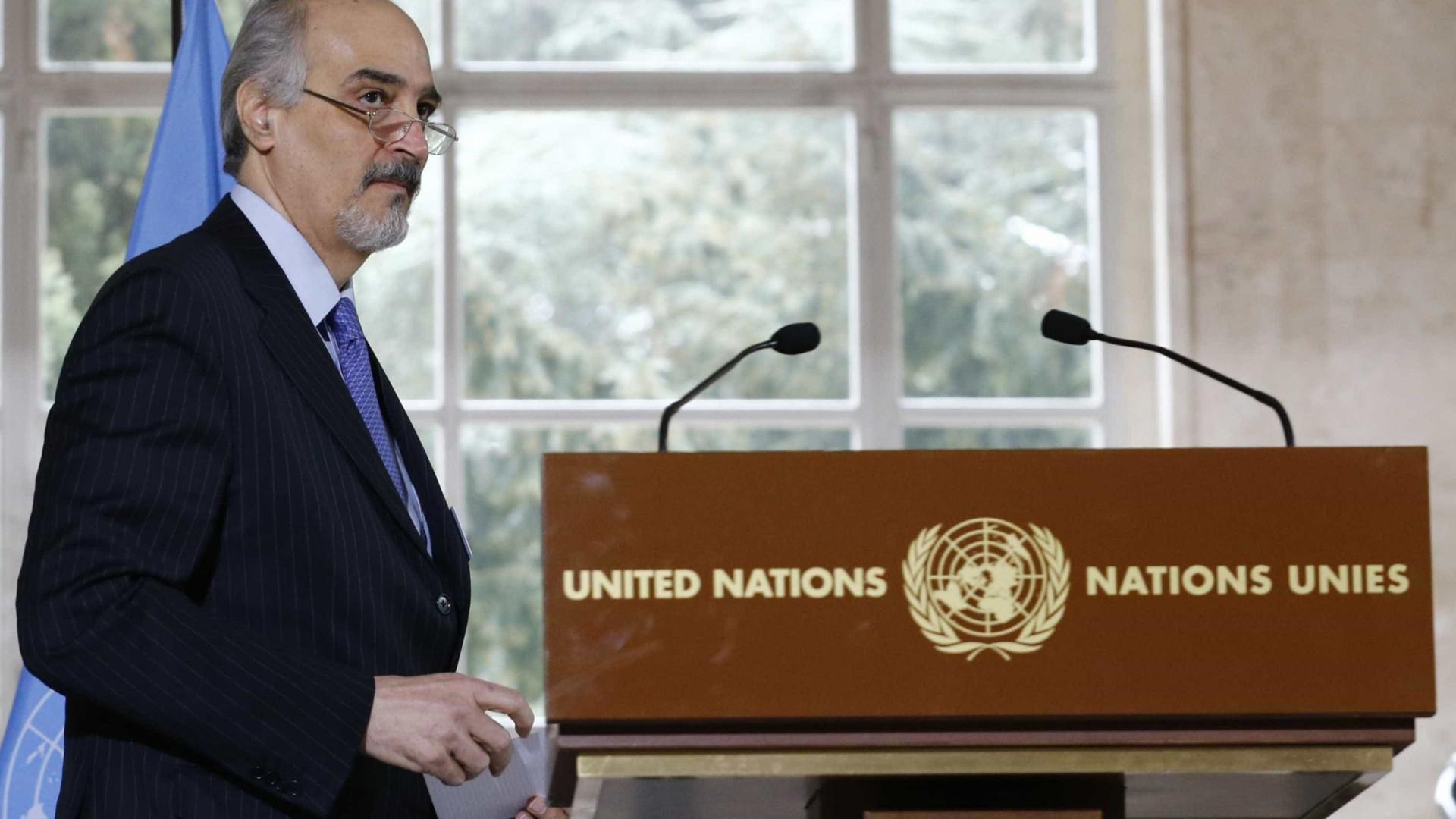 Damasco avisa Ocidente de que se defenderá se for atacada