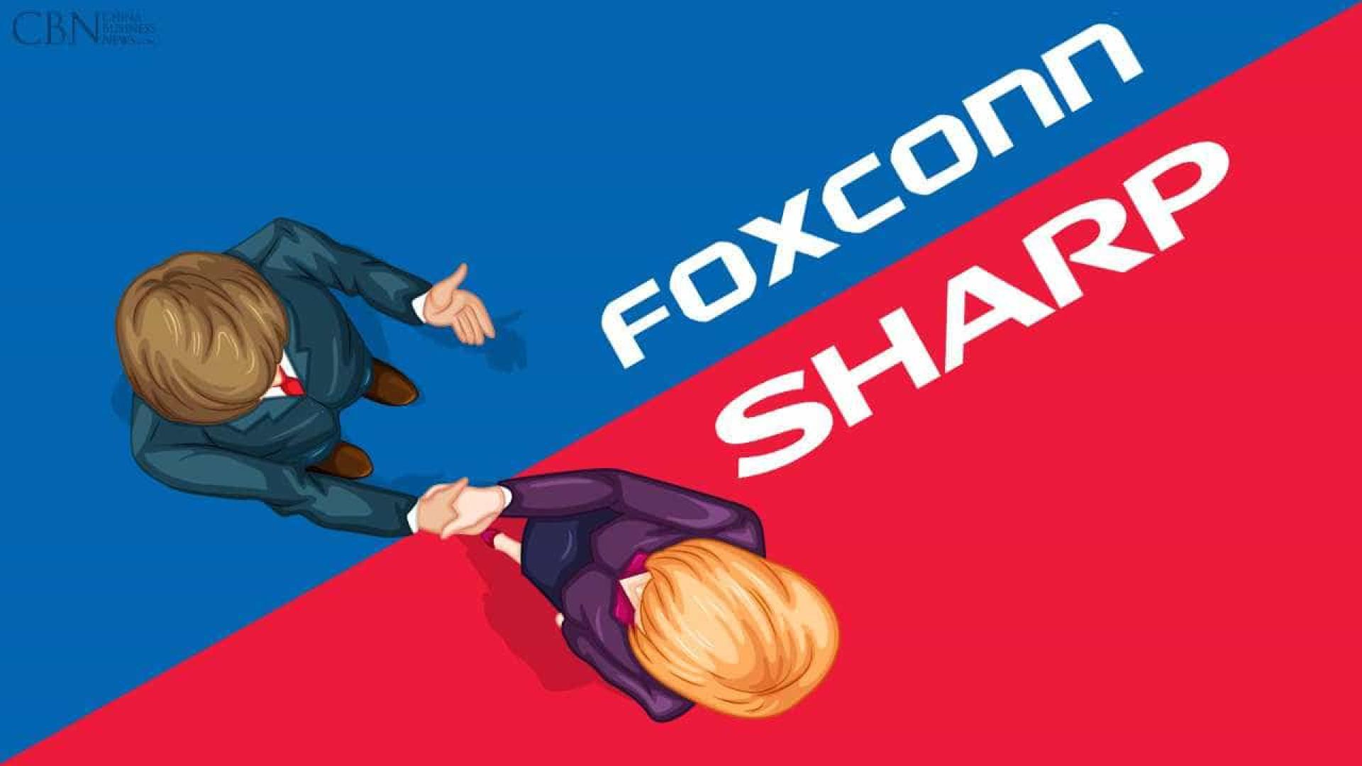 Foxconn fecha acordo com Sharp para tomar controle da empresa