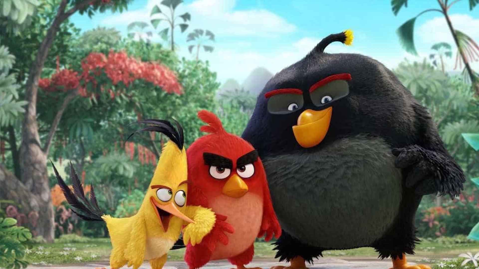 Novo filme de 'Angry Birds' tem mais personagens e subtramas