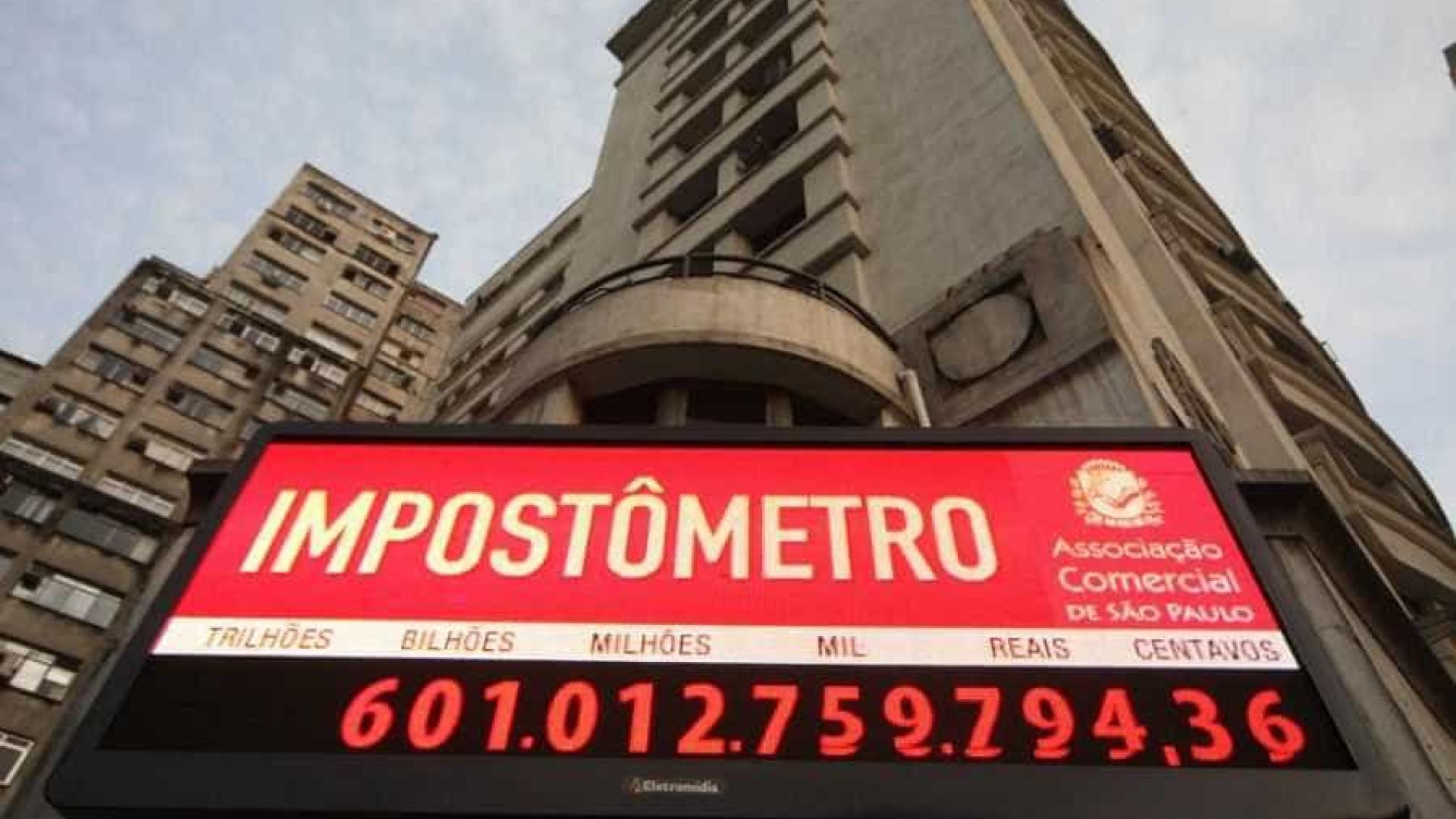 Impostômetro vai bater R$ 600 bilhões nesta segunda-feira