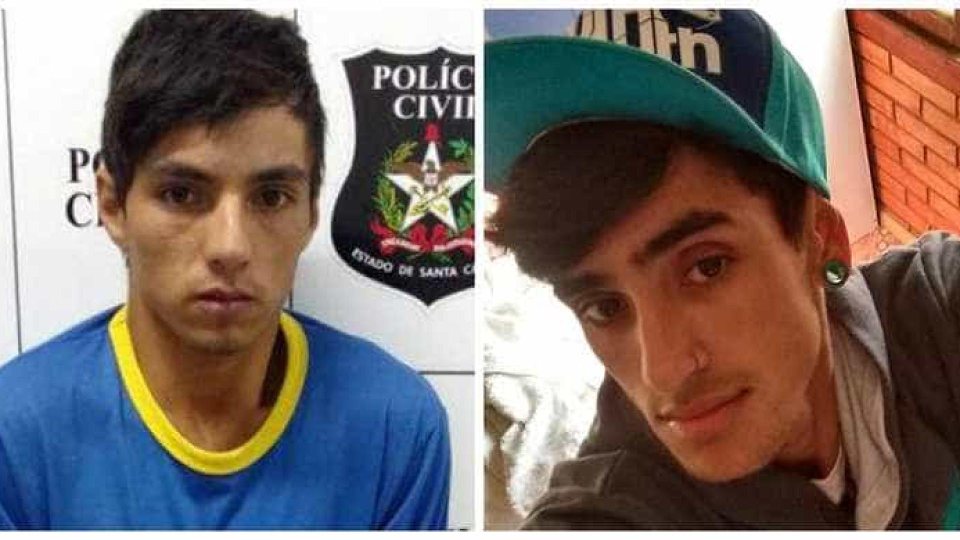 Jovem é preso por matar e esquartejar três pessoas em Santa Catarina