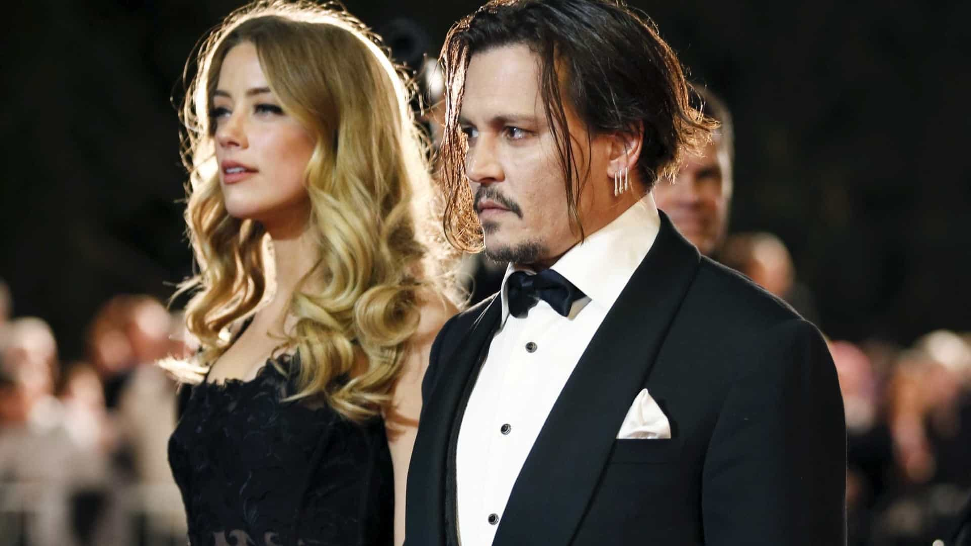 Fãs de Johnny Depp fazem petição para Amber Heard ser demitida de 'Aquaman 2'