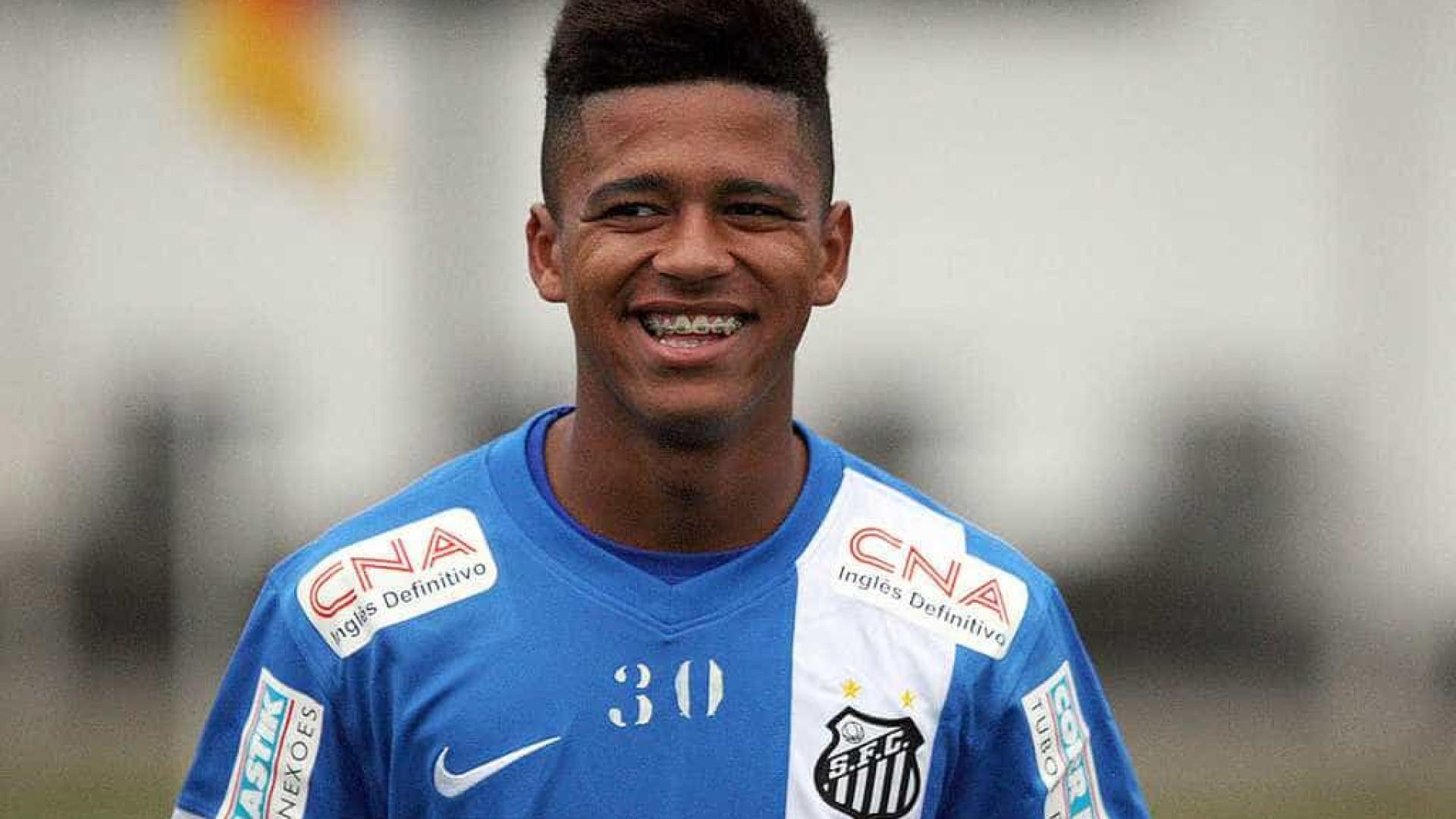 Diogo Vitor tem pena por doping reduzida e será reintegrado ao Santos
