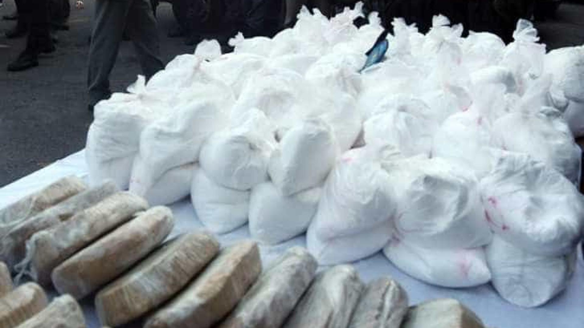 Drogas que seriam enviadas para Holanda são apreendidas no PR e no PA
