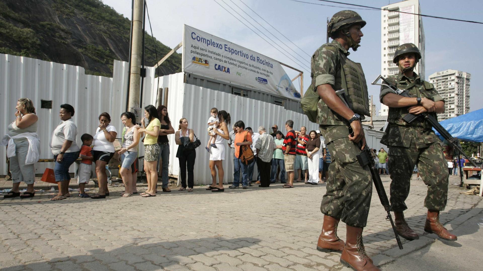 TREvai pedir reforço de tropas federais para as eleições no Rio