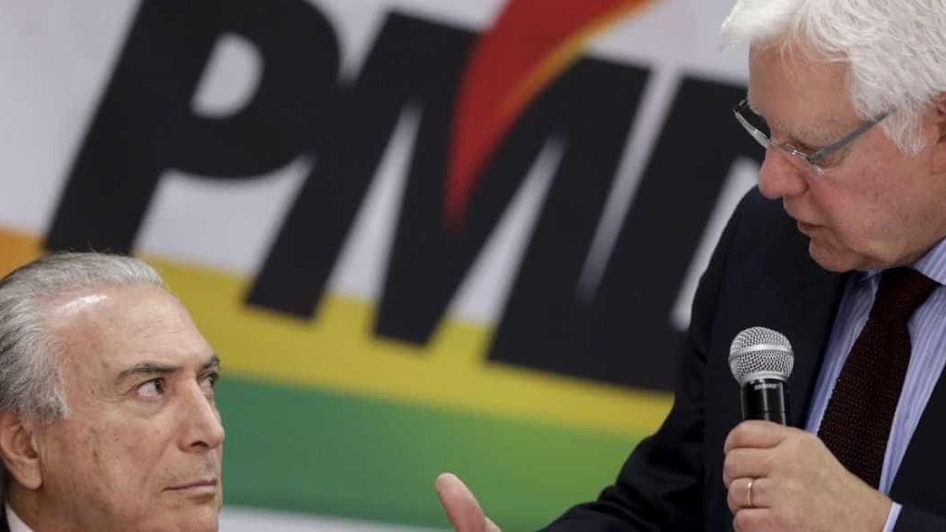 Moreira Franco diz que Temer não  cogita se lançar à reeleição