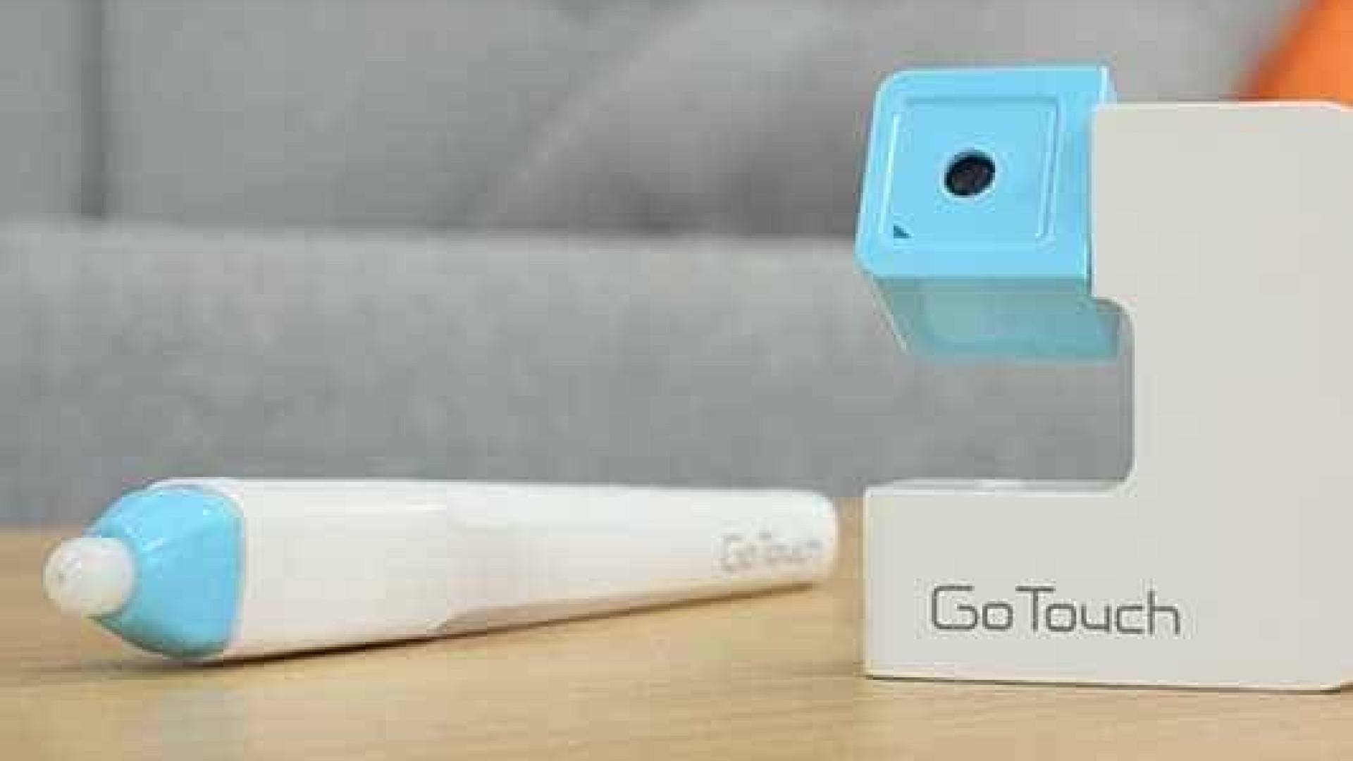 GoTouch transforma qualquer TV em painel interativo