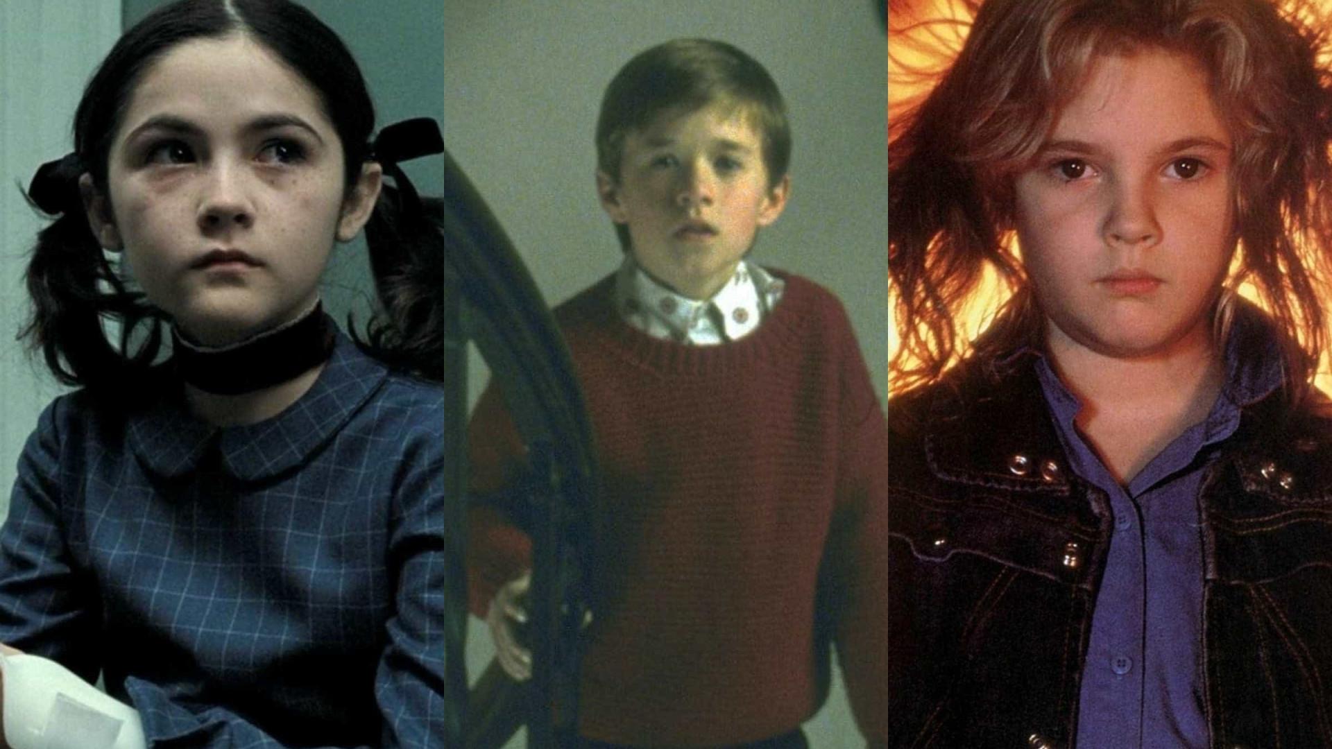 Veja o antes e depois destes atores dos filmes de terror