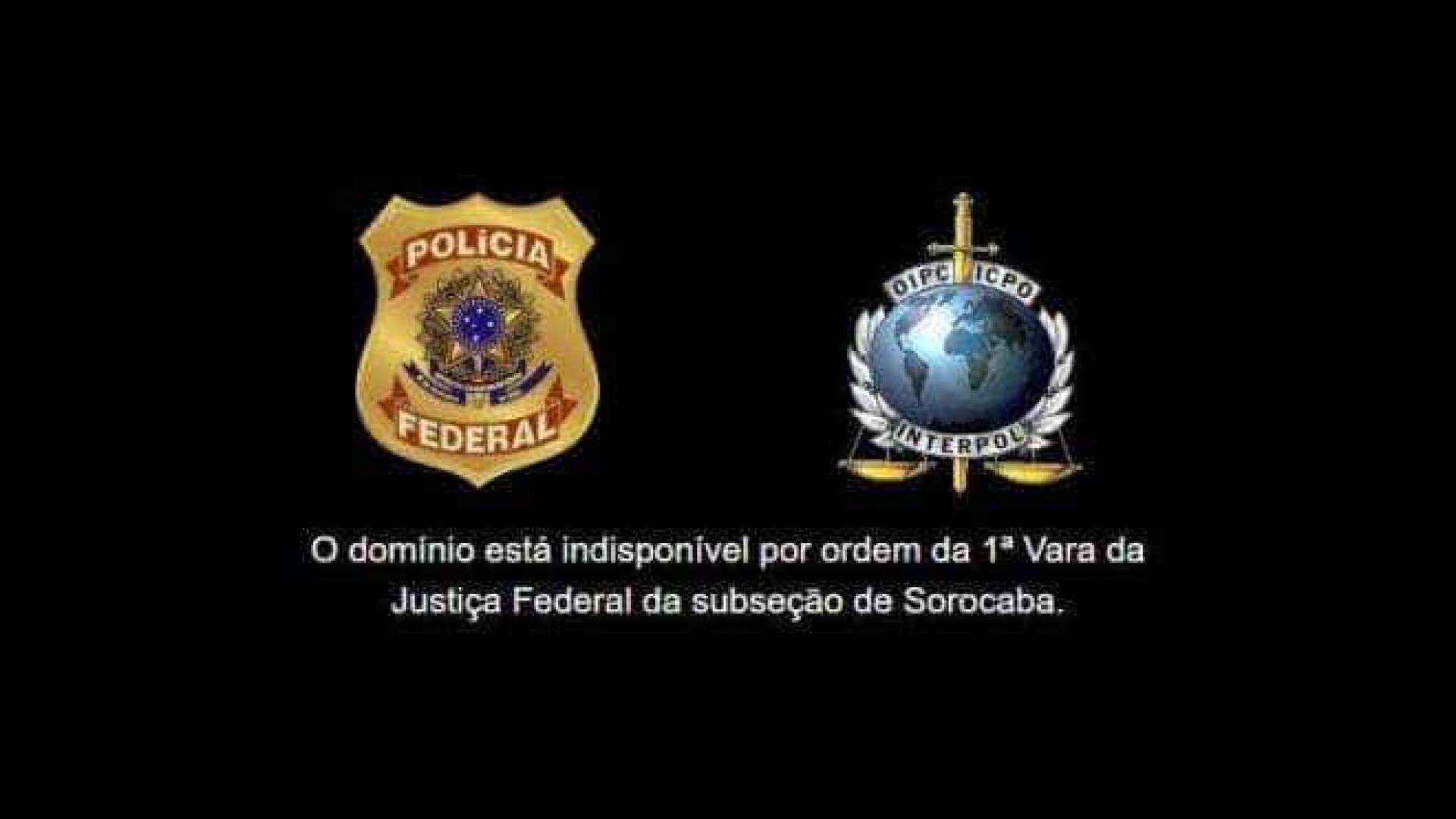 30 sites de pirataria são bloqueados pela Polícia Federal