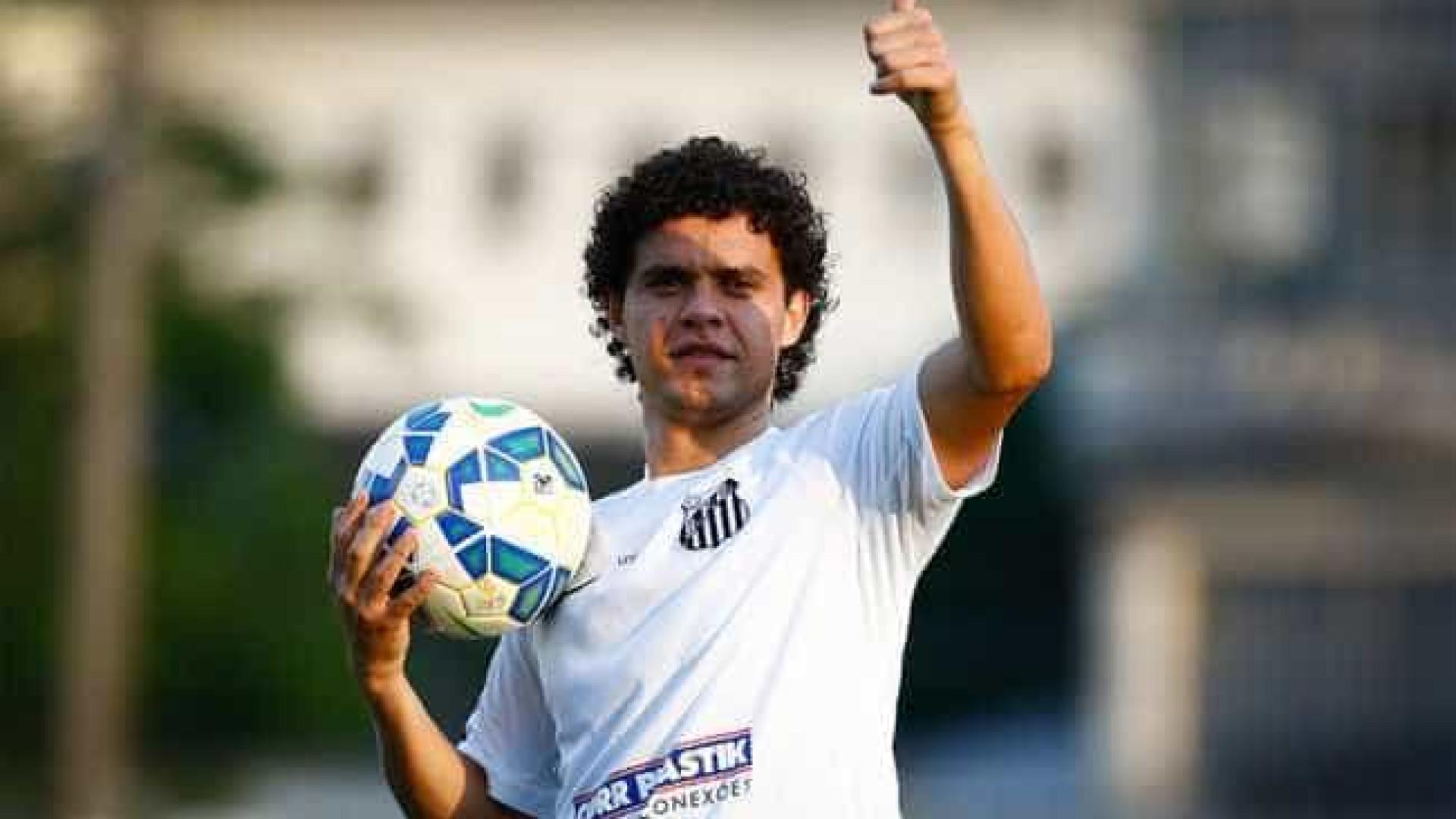 Com virose, Victor Ferraz vira desfalque de última hora no Santos