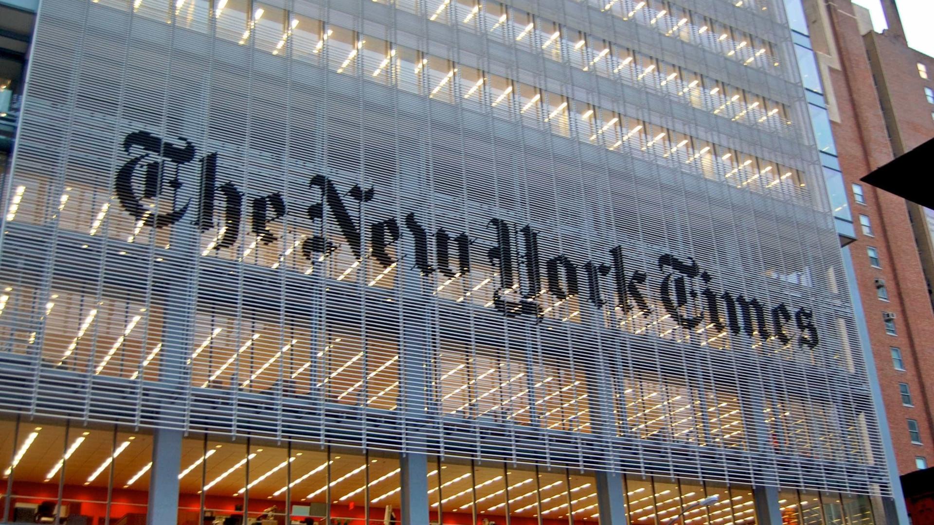 15 mil doam assinatura digital do 'NYT' a 1,3 mi de alunos nos EUA