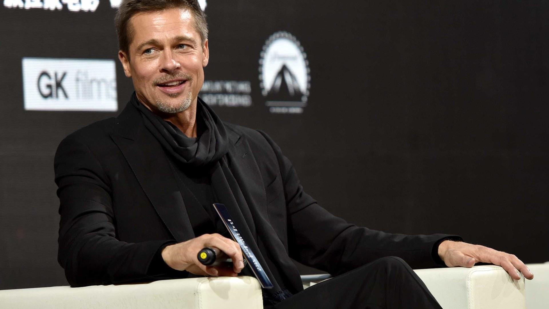 Brad Pitt vai lançar livro sobre a sua vida