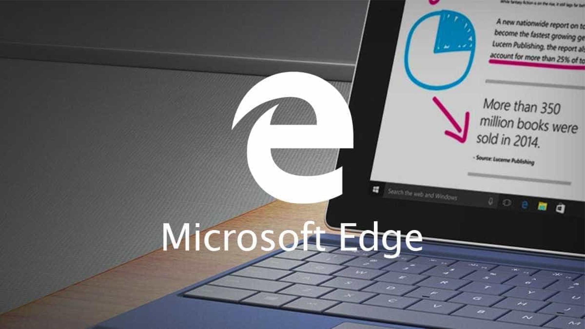 Microsoft Edge já poder ser usado em computadores da Apple