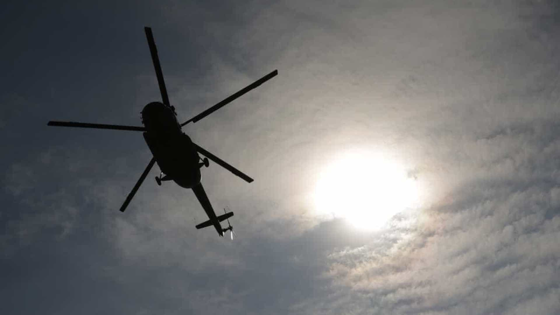 Quatro mortos em queda de helicóptero  na Rússia