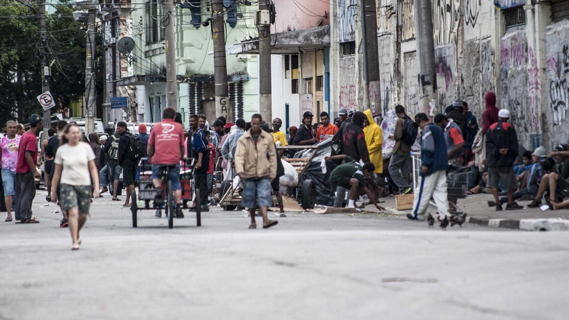 CIDH: Cracolândia tem situação de 'insegurança humana'