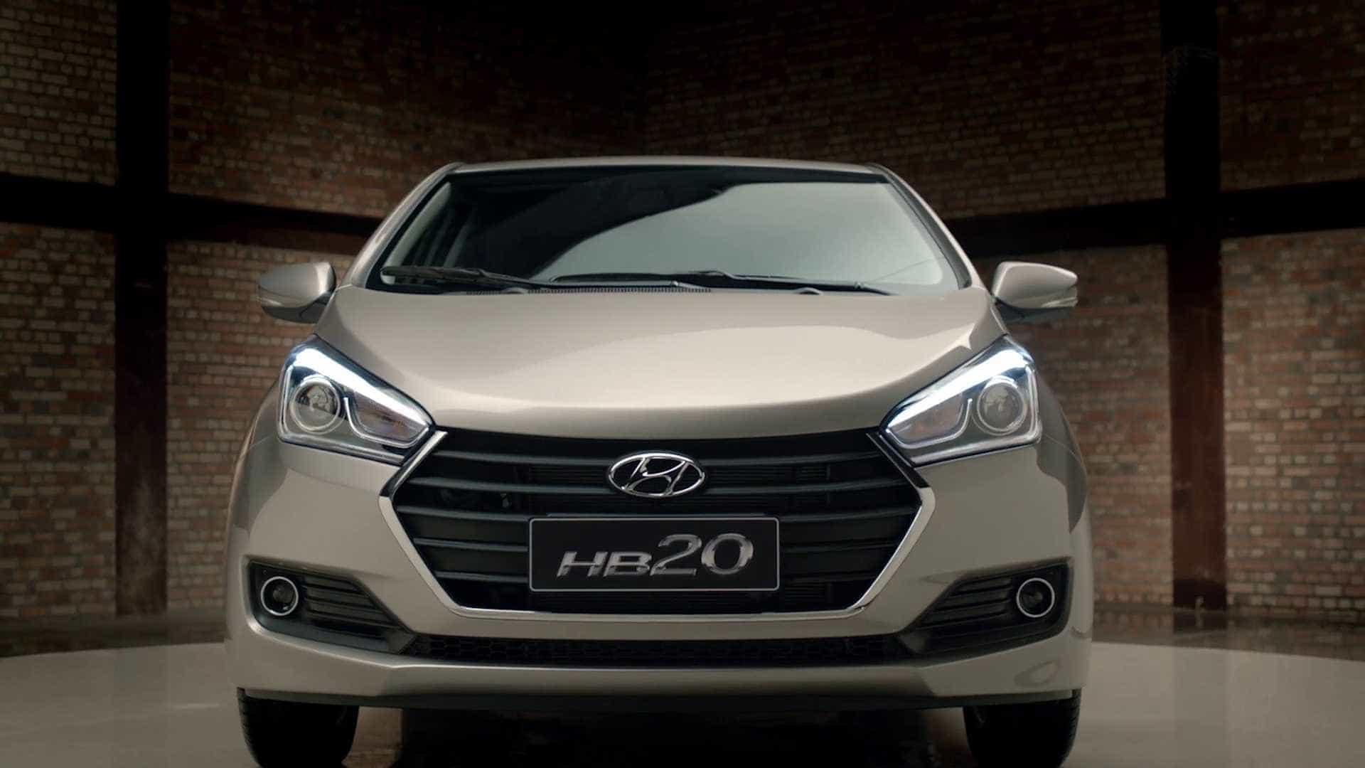 Novo Hyundai HB20 pode frear sozinho para evitar atropelamento