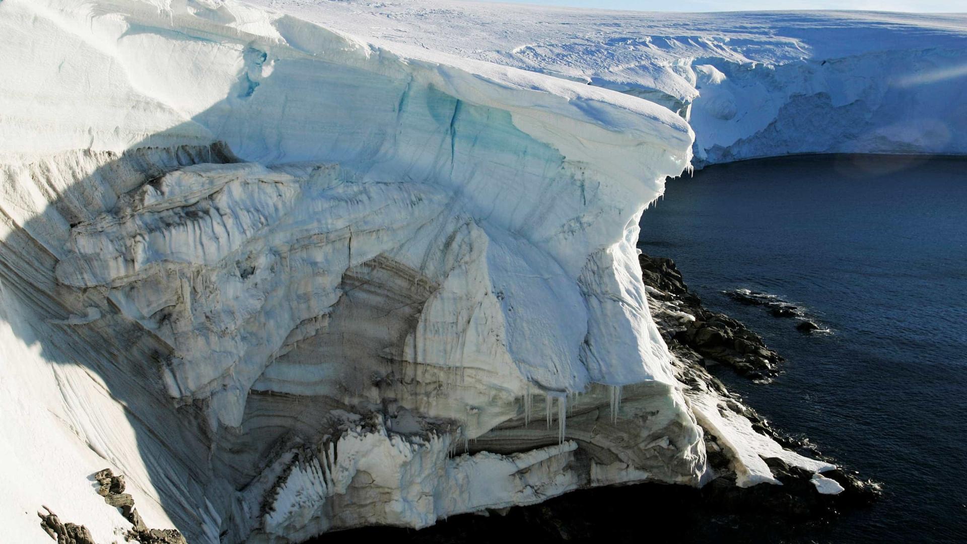 Temperaturas na Antártida ultrapassam os 20ºC pela primeira vez