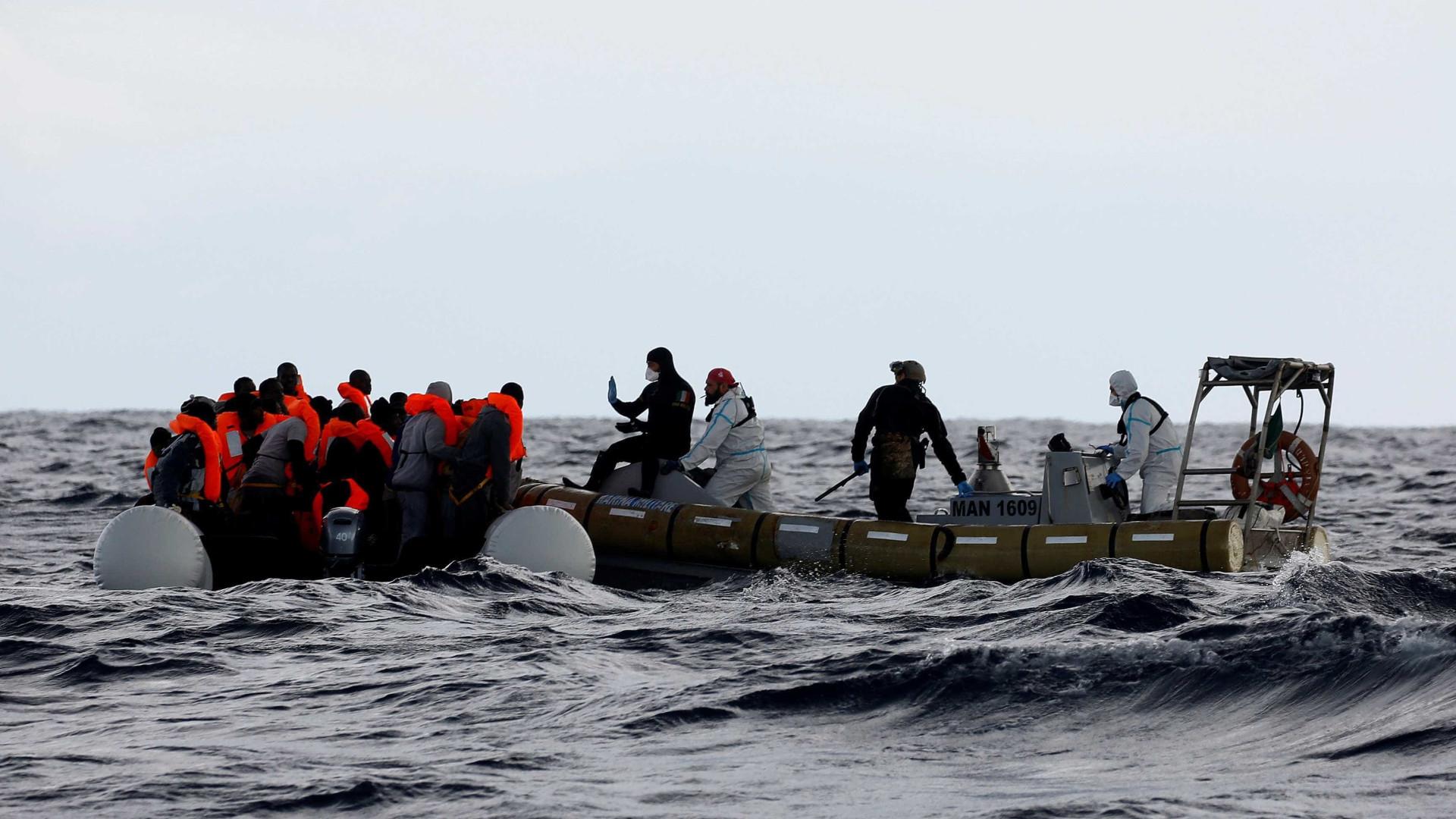 Polícia Marítima resgatou 70 pessoas no Mar Egeu