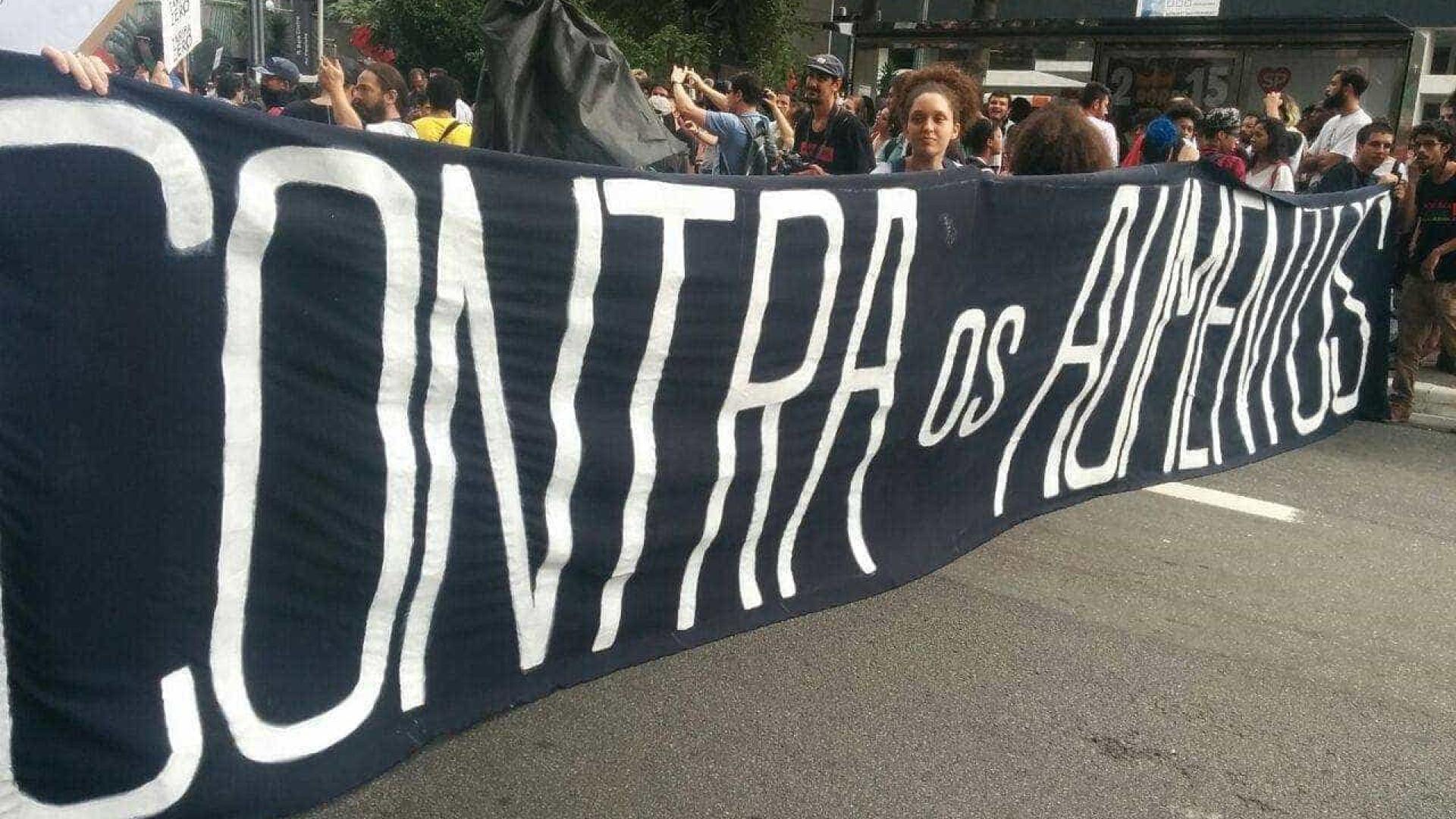 MPL faz novo ato contra aumento da tarifa no centro de São Paulo