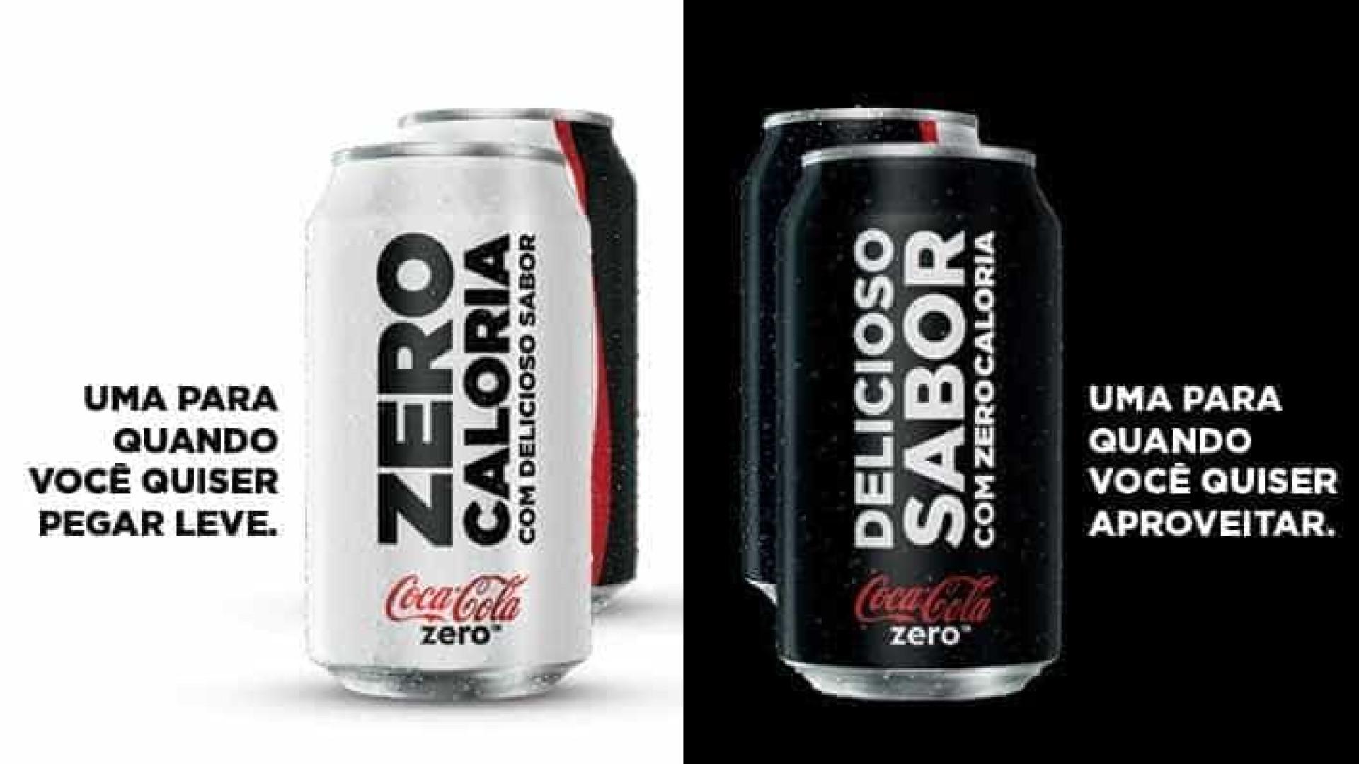 Com novas embalagens, Coca-Cola quer elevar venda de refrigerante zero