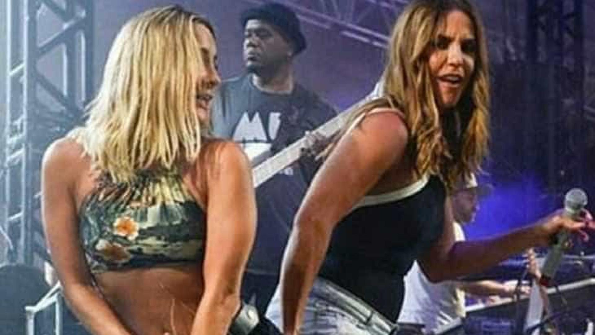 Ivete Sangalo e Claudia Leitte farão live juntas no sábado de Carnaval