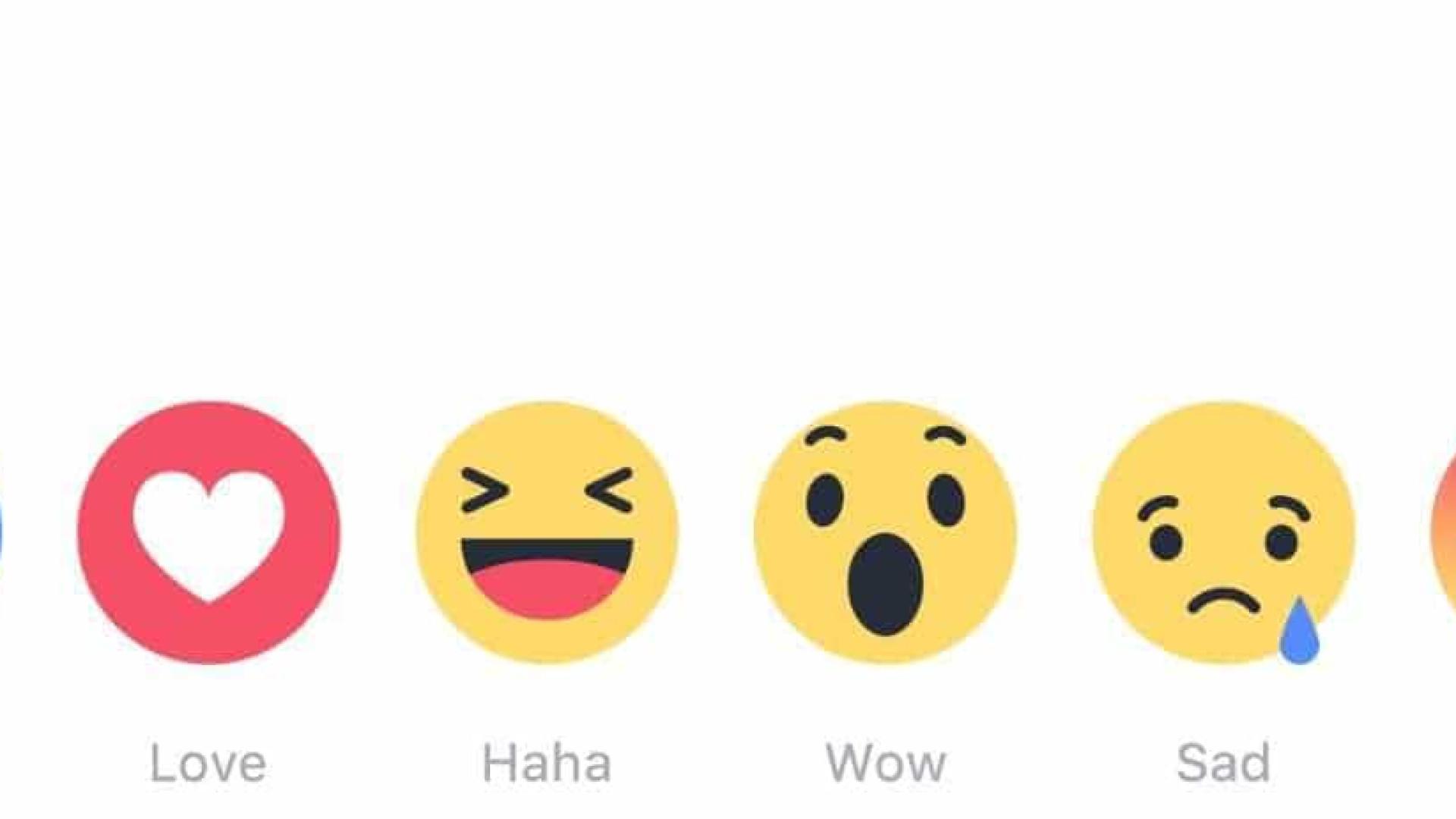 Reações do Facebook vão passar a afetar classificação dos posts