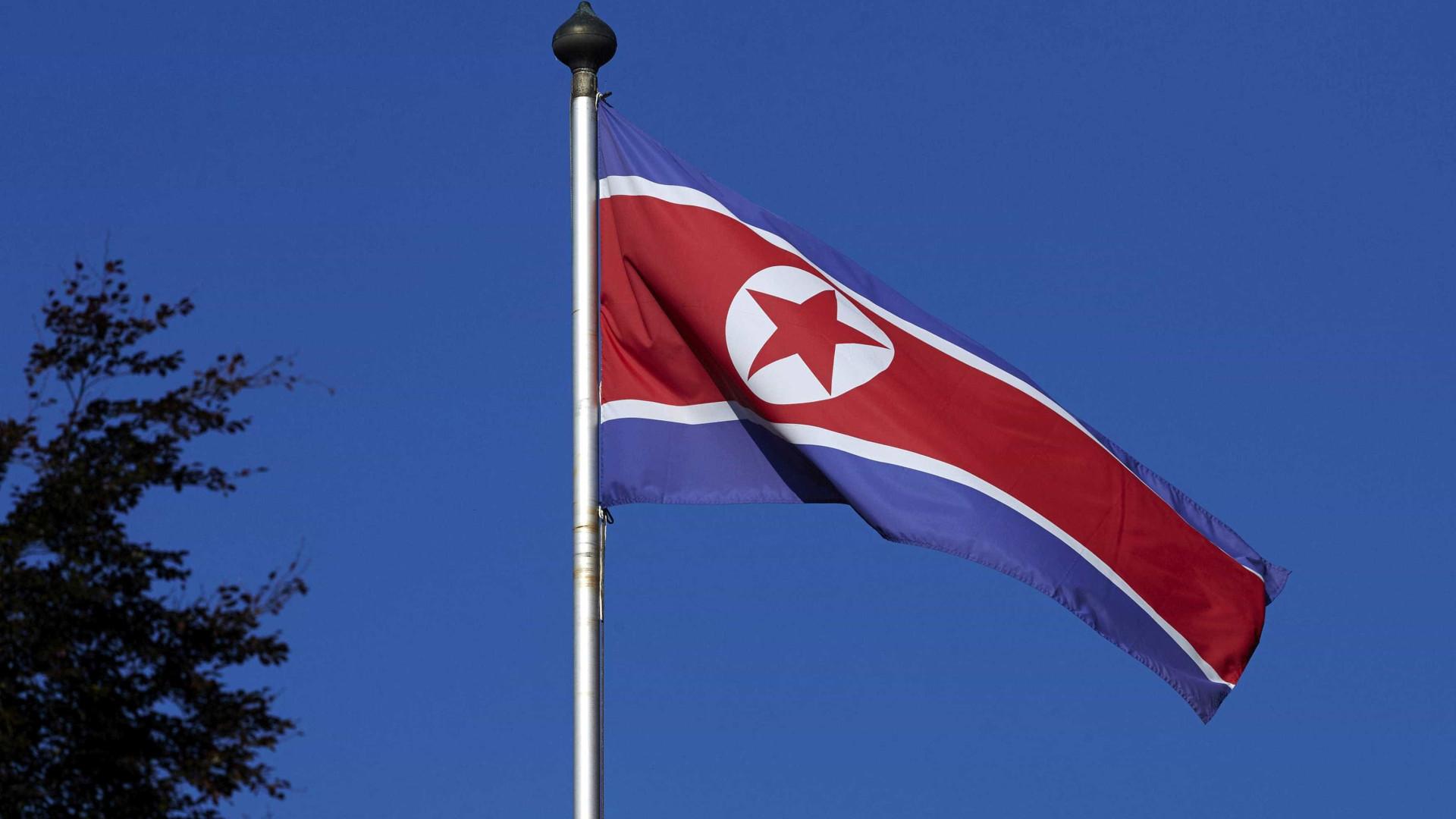 Coreia do Norte confirma lançamento de dois projéteis no mar do Japão