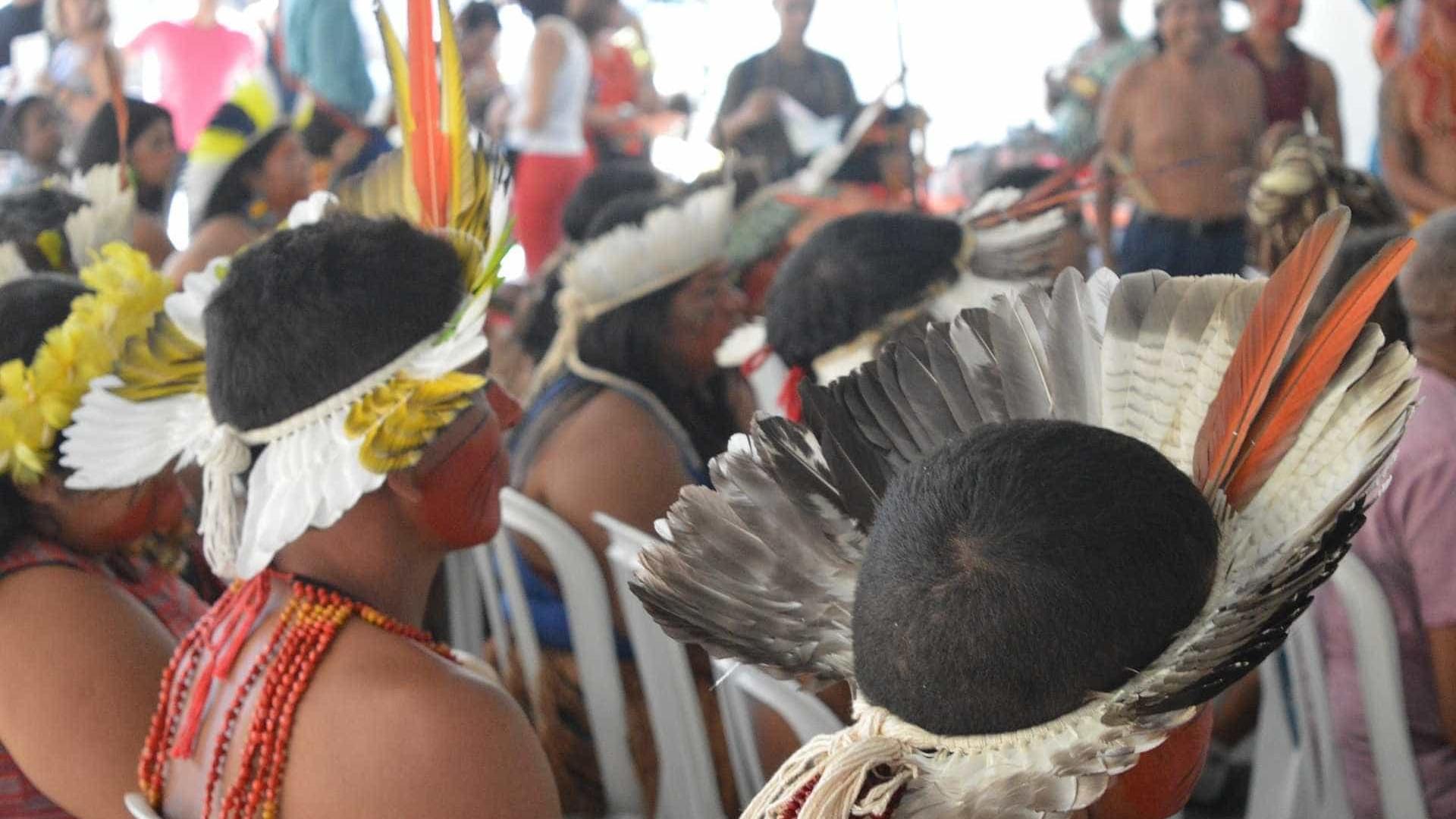 Quatro mil índios se reúnem para a  Semana dos Povos Indígenas